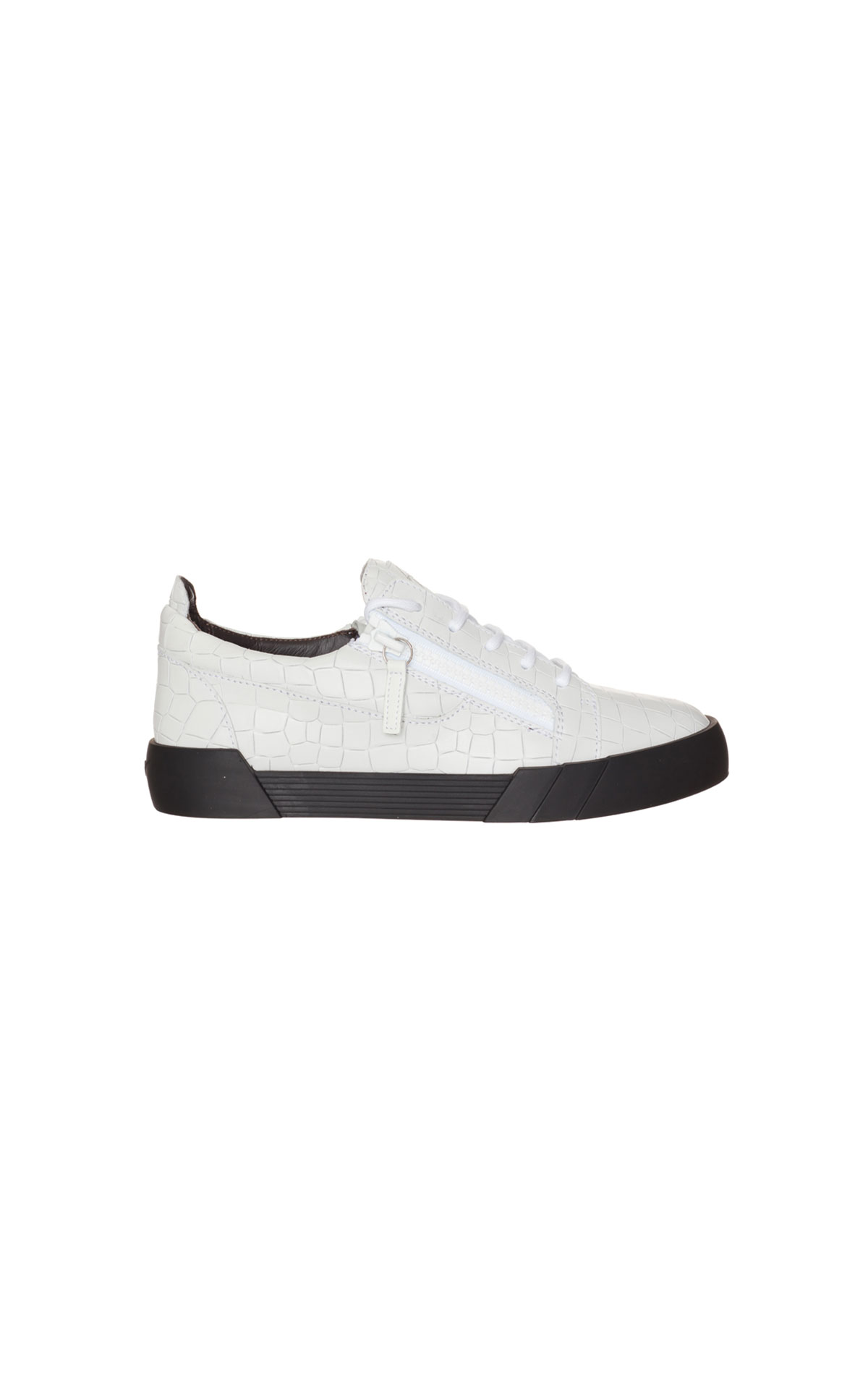 Giuseppe Zanotti Men's cross embossed shark sole frankie from Bicester Village