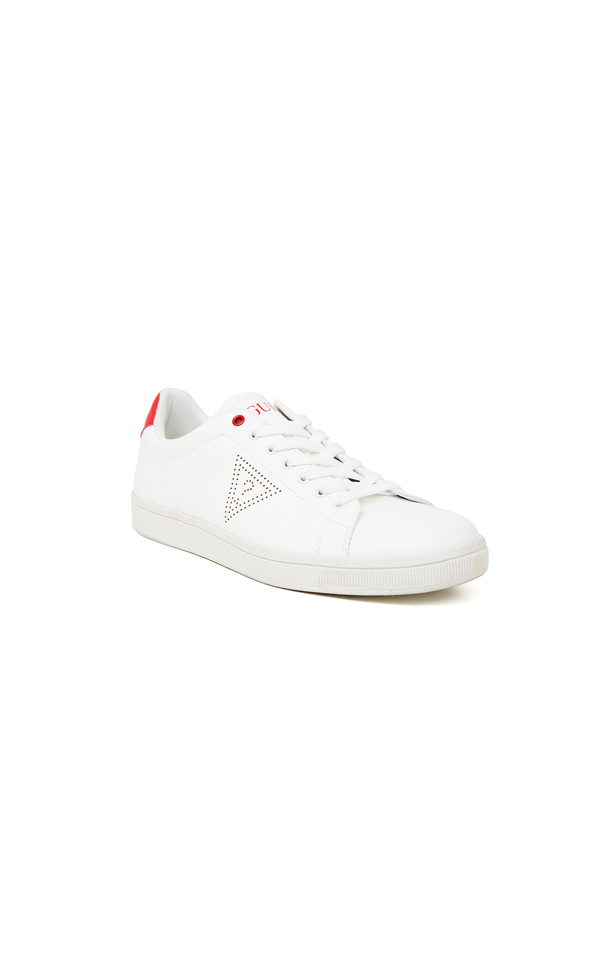 New Allan white sneaker for woman Guess