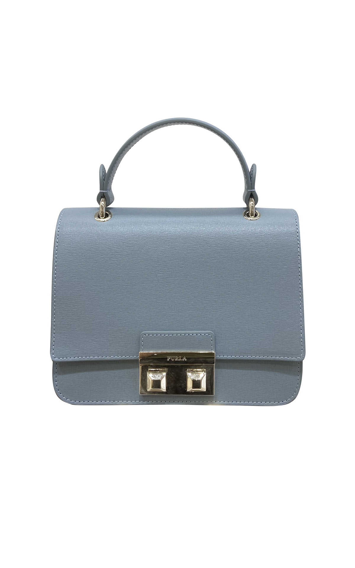 Blue bag from Furla