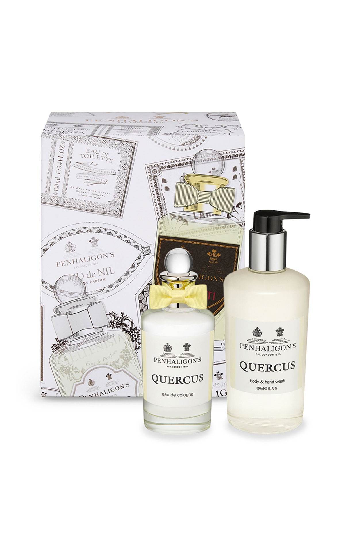Penhaligon's Quercus 100ml and body and hand wash from Bicester Village