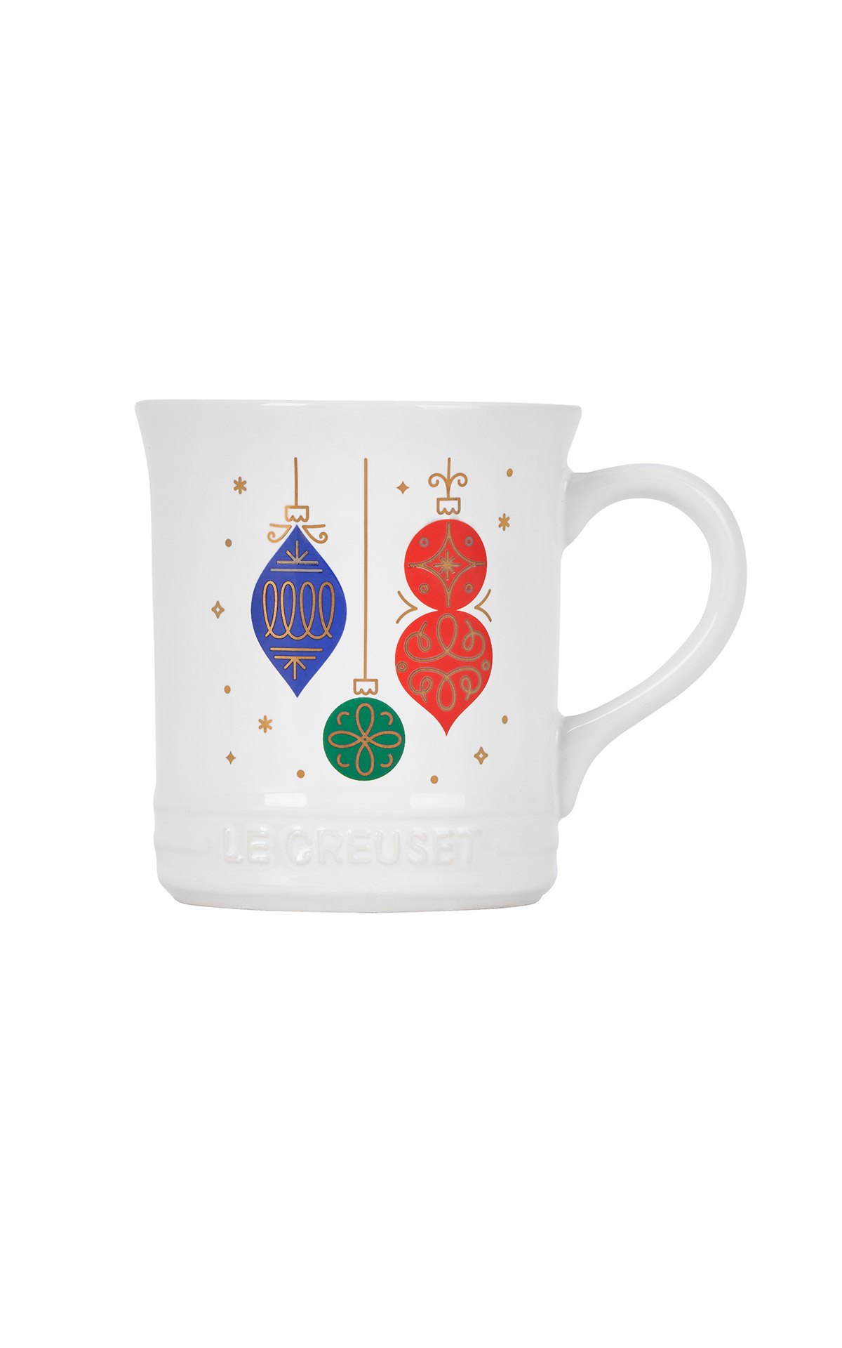 Christmas ornaments mug Le Creuset