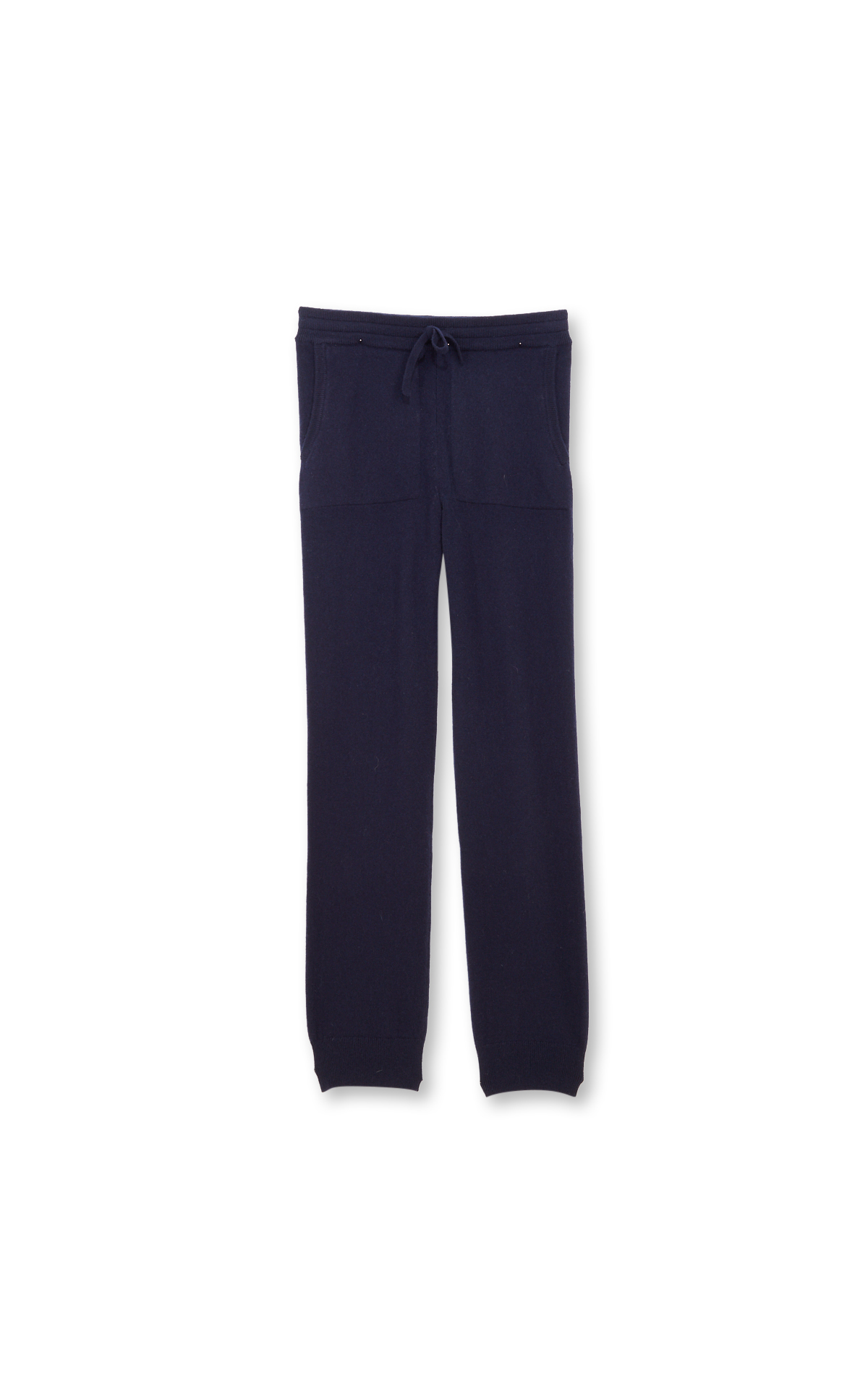 Eric Bompard Navy blue cashmere trousers