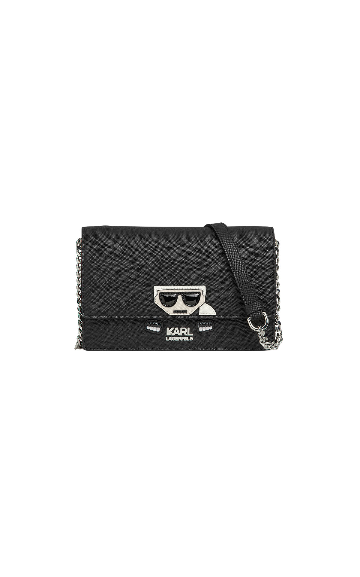 Karl Lagerfeld kocktail wallet on chain at The Bicester Village Shopping Collection