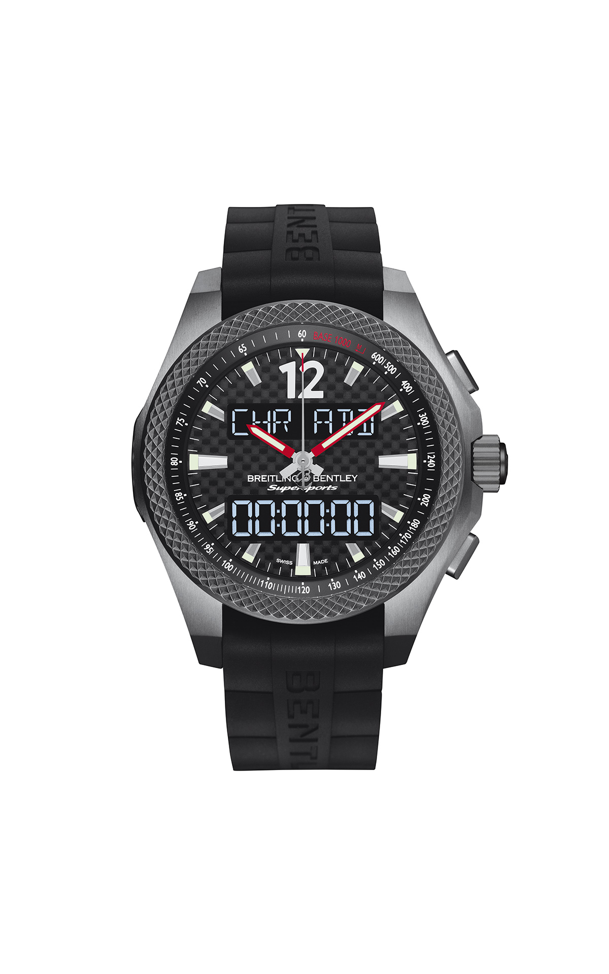 Reloj Bentley carbono Breitling