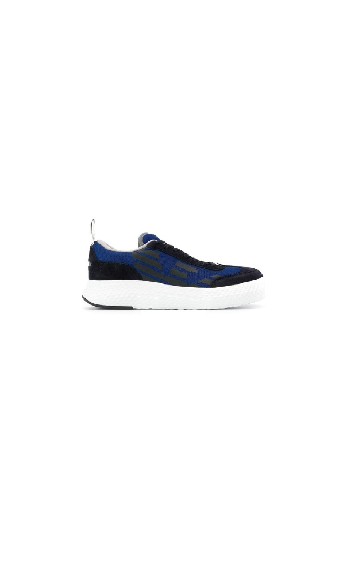Blue and black sneakers for man Armani
