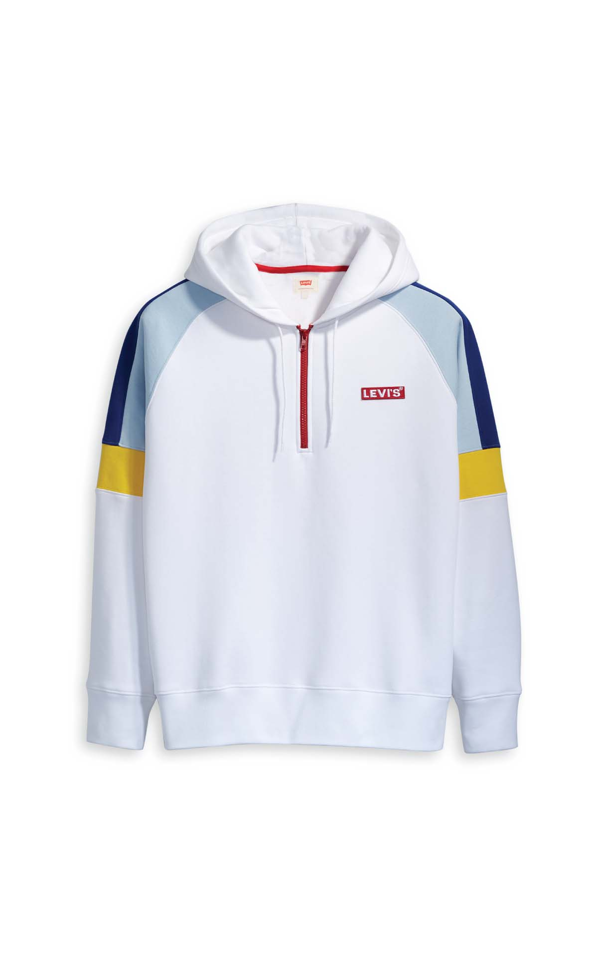 Levi's White Hoodie at The Bicester Village Shopping Collection
