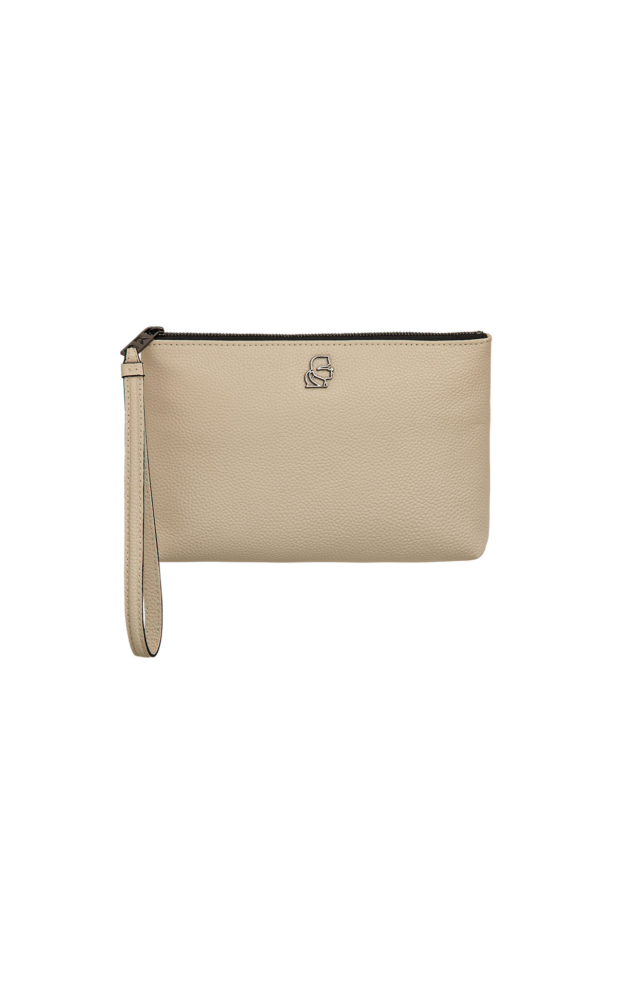 Karl Lagerfeld k/pebble wristlet at The Bicester Village Shopping Collection
