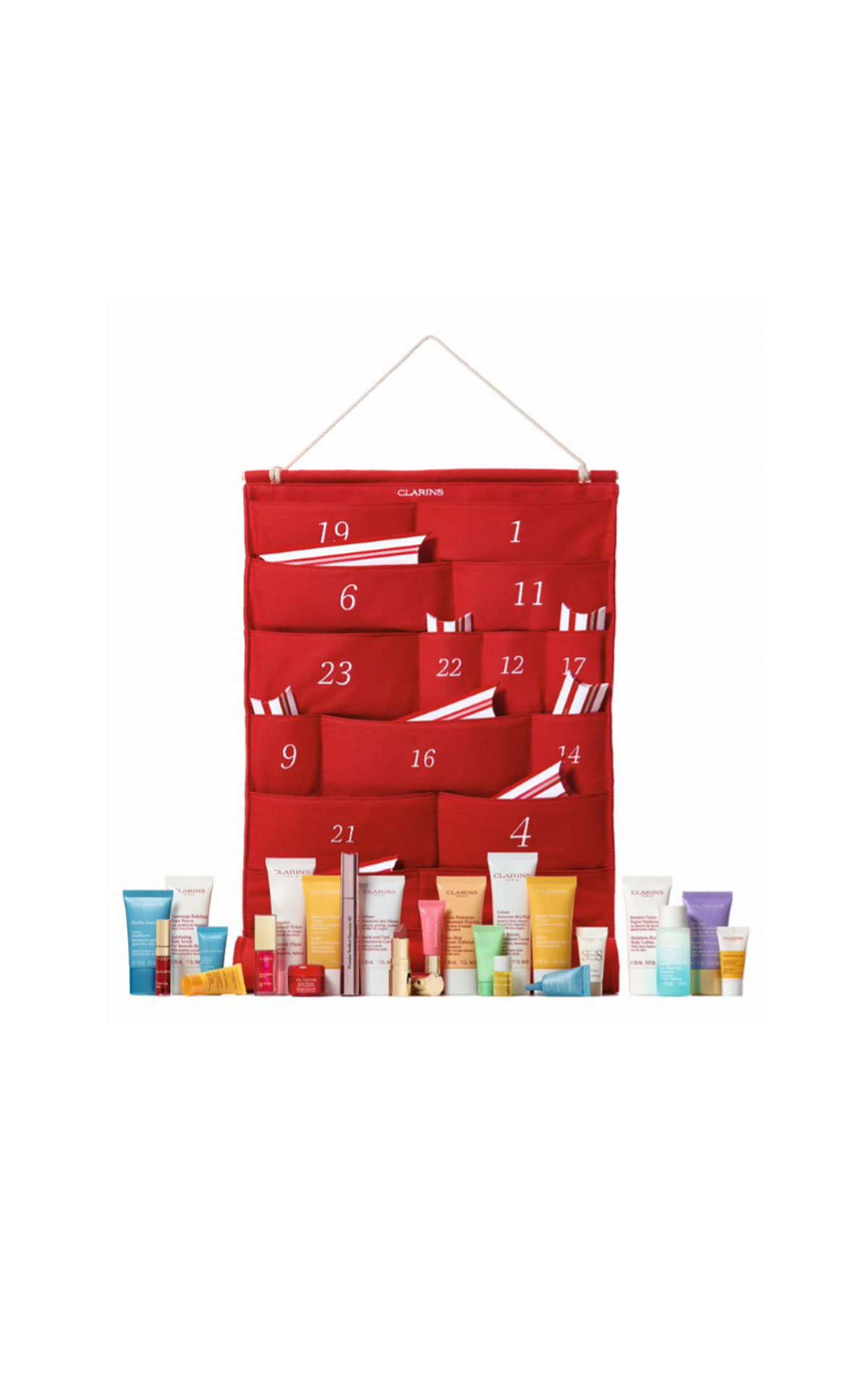 Clarins Advent calendar from Bicester Village