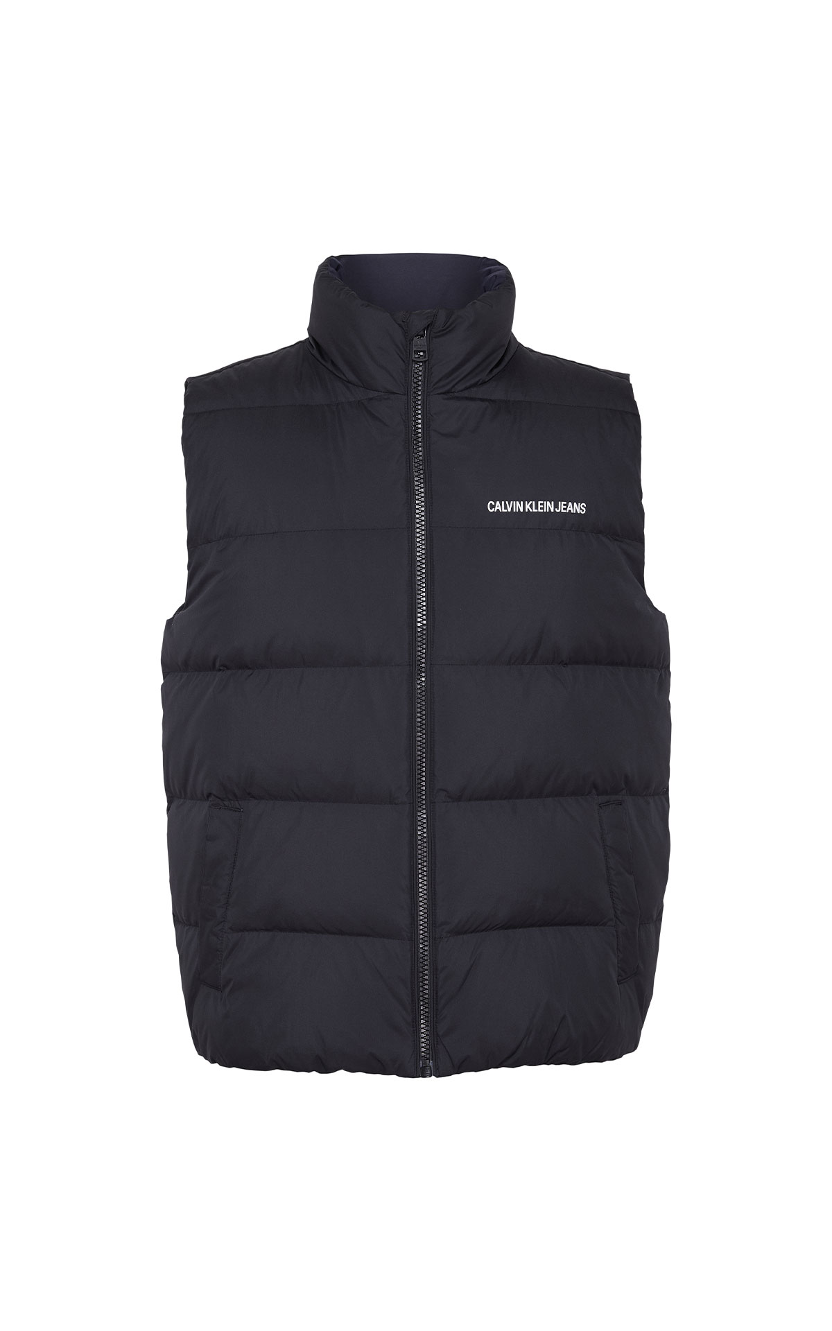 Calvin Klein Jeans Black beauty vest from Bicester Village
