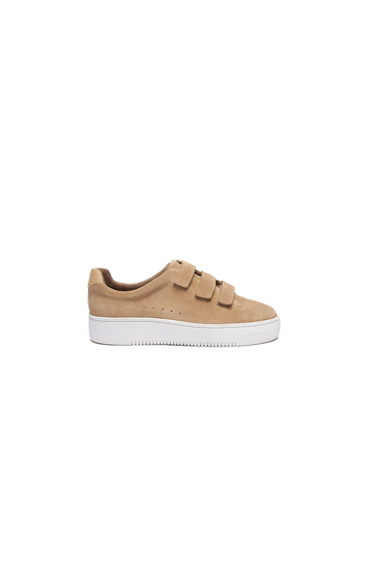 Sandro camel sneaker at The Bicester Village Shopping Collection