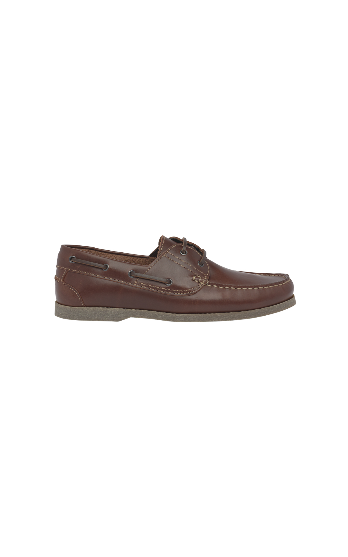 Brown nautical shoe man Clarks