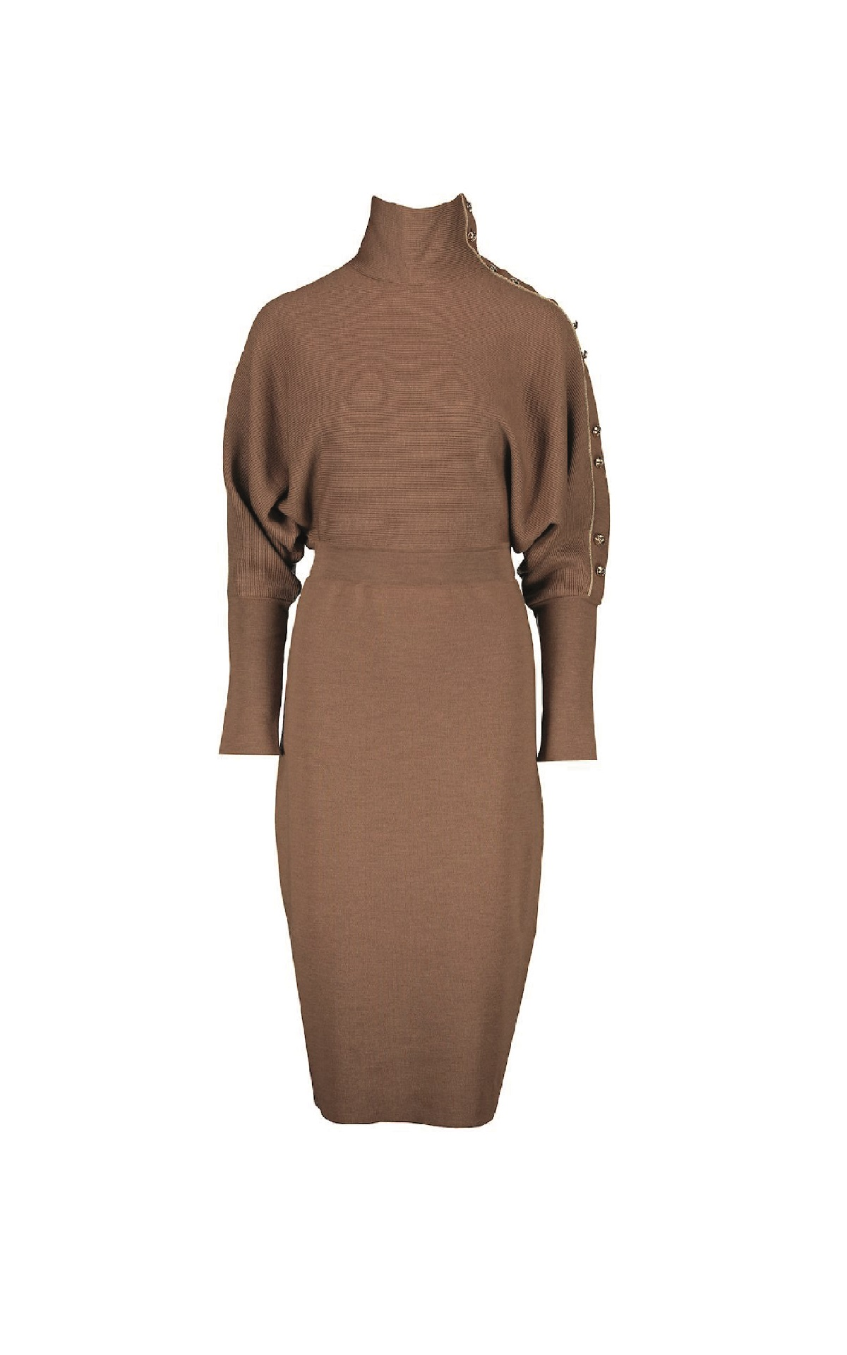 Camel wool dress Escada