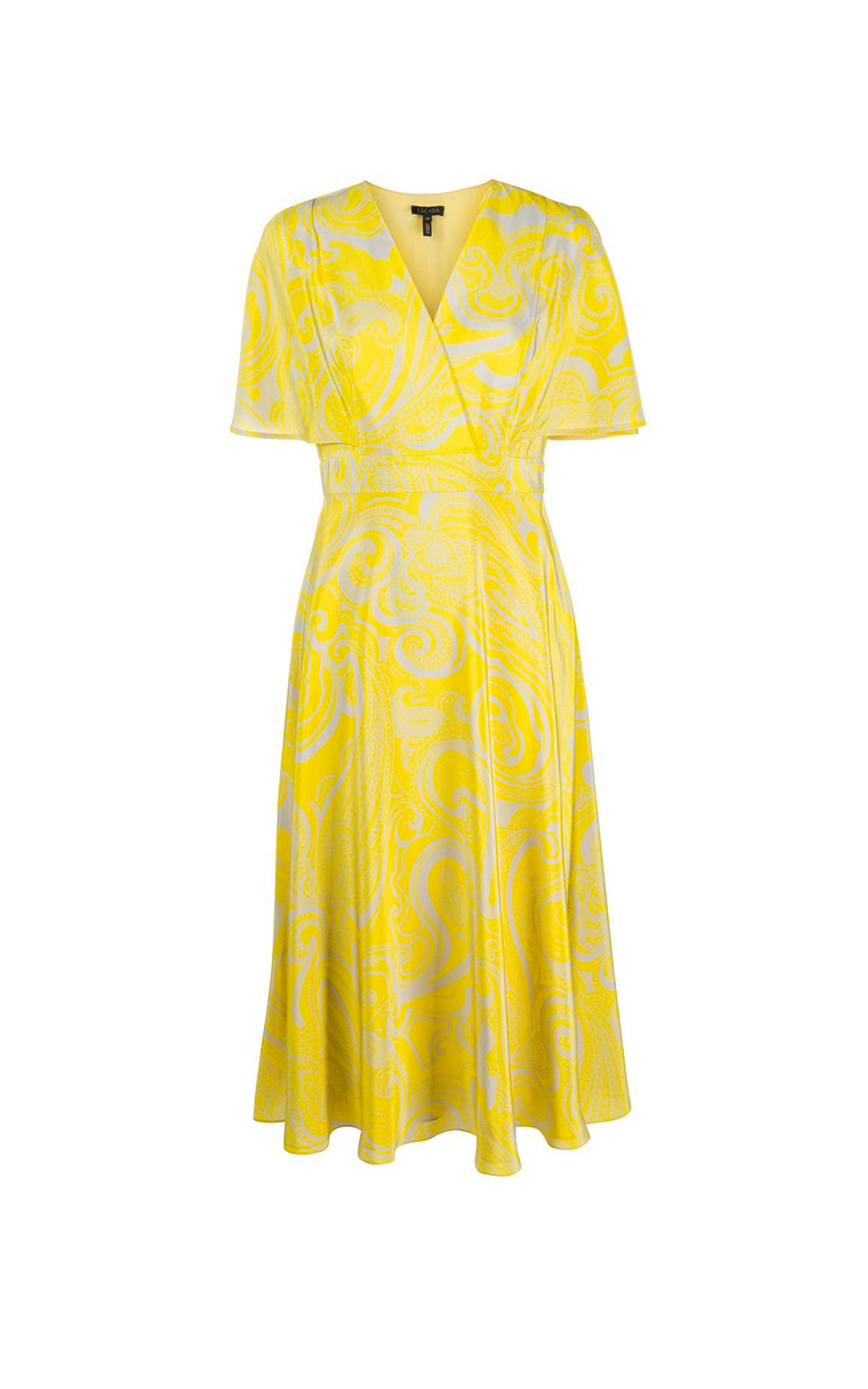 Yellow dress Escada