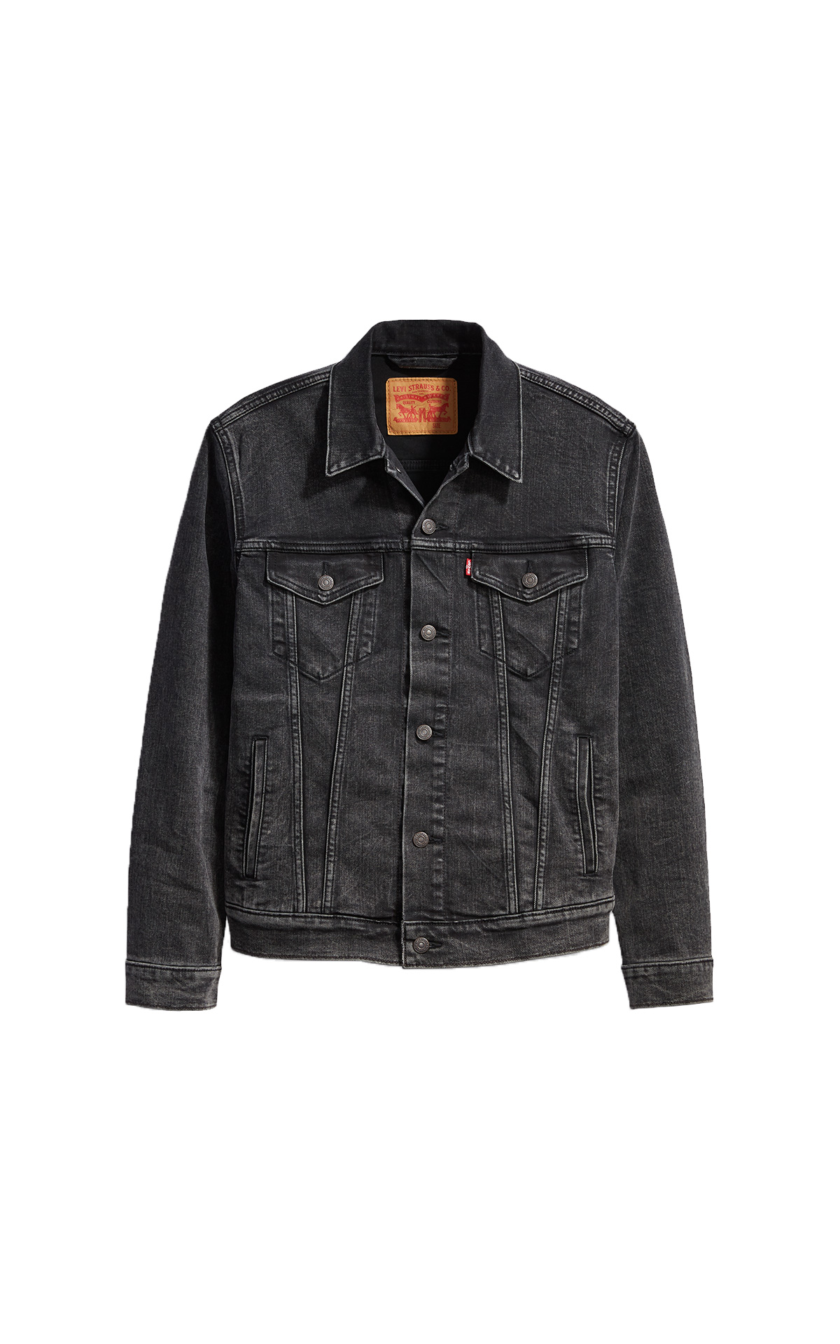 Black The trucker denim jacket unisex Levi's