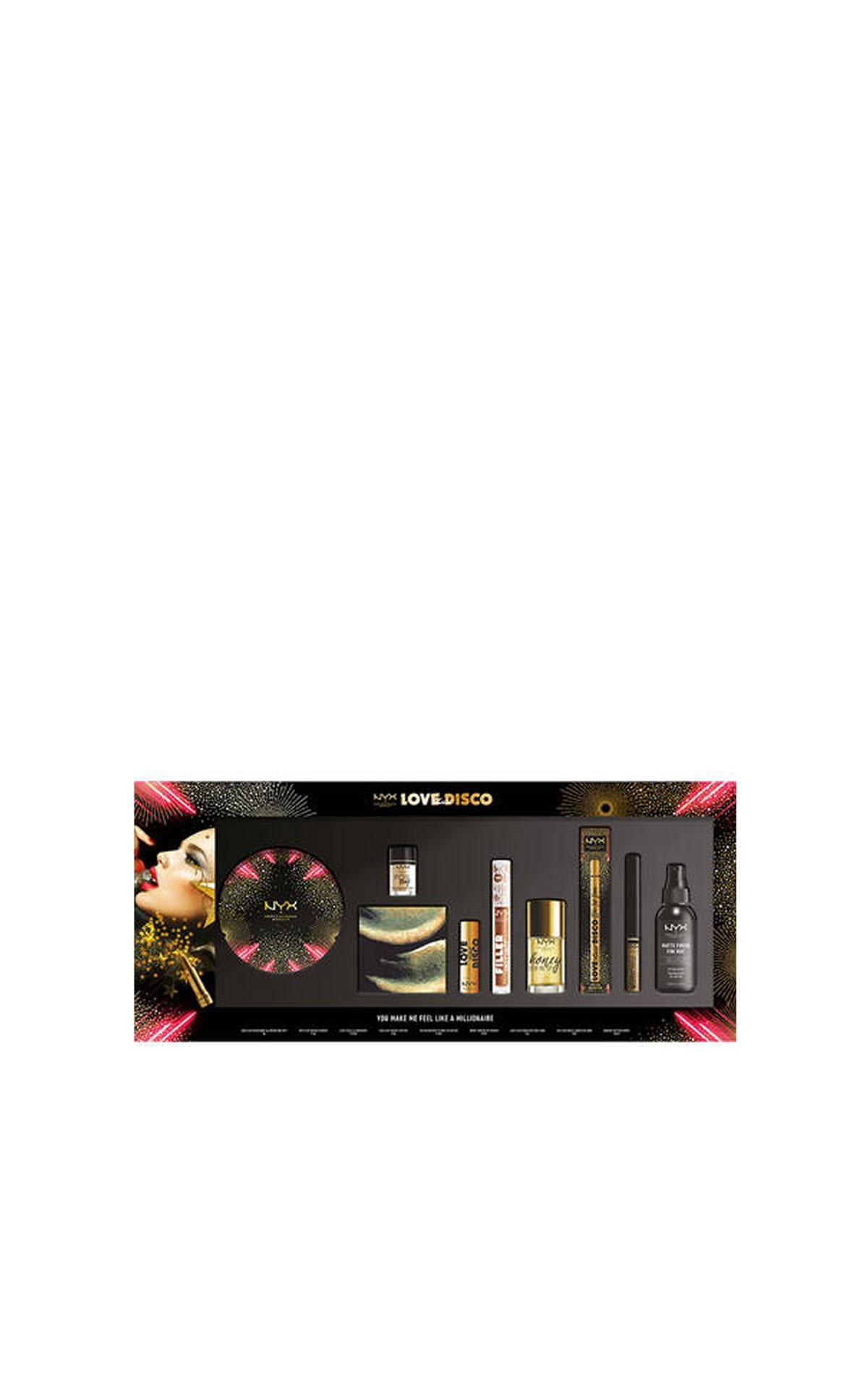 NYX Professional Love Disco Gift Set