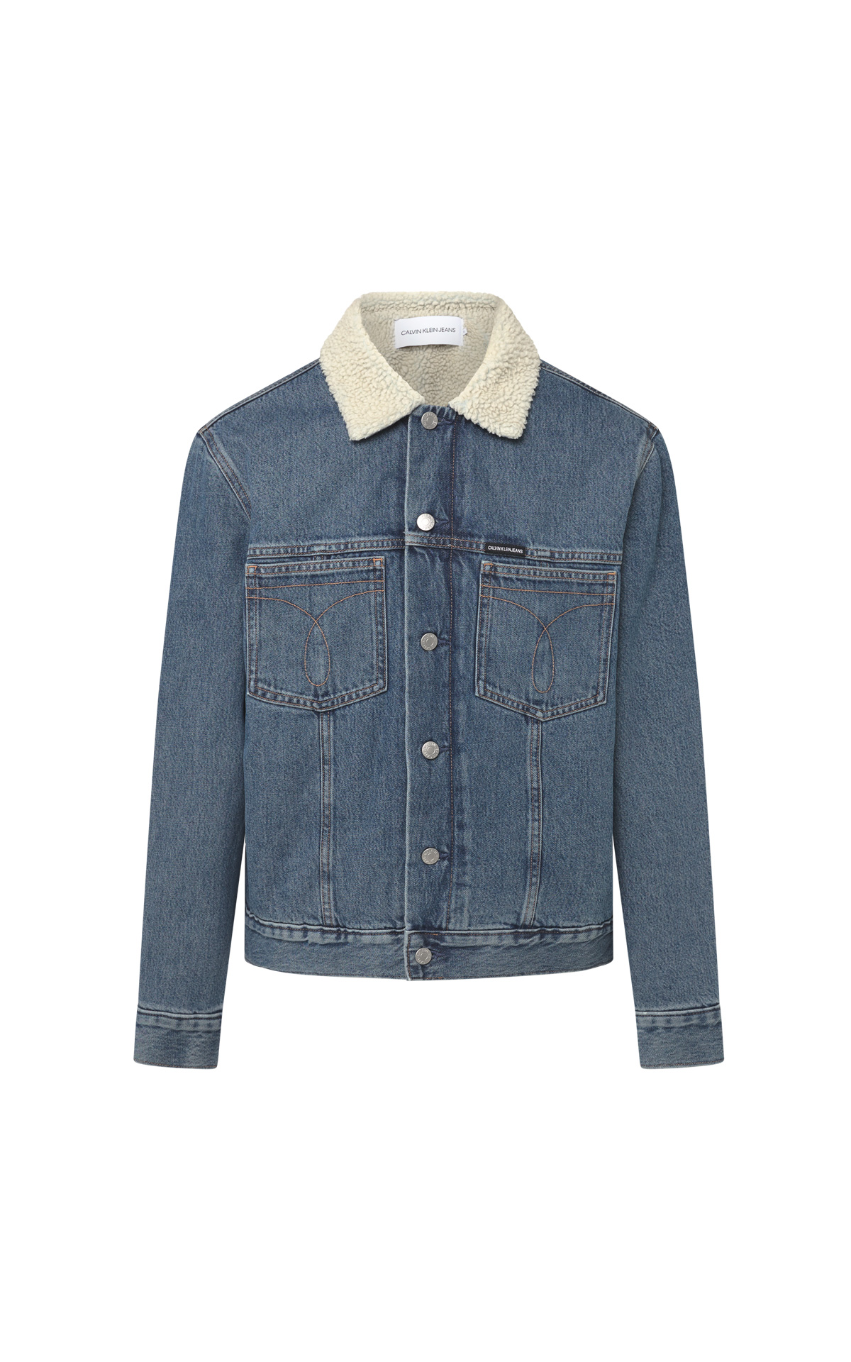 Denim jacket faux shearling from Calvin Klein Jeans