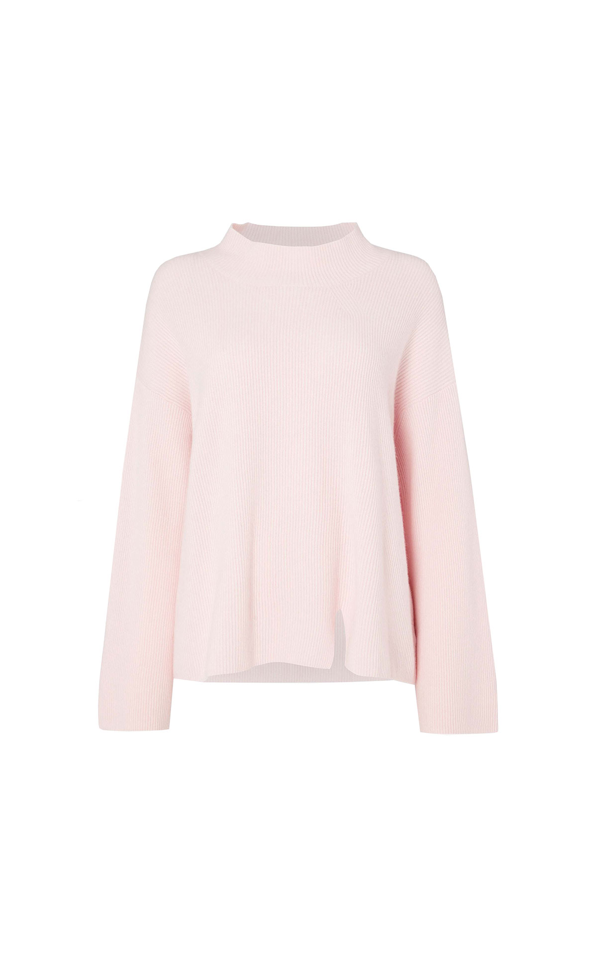 N.Peal Ladies cardigan stitch funnel neck from Bicester Village
