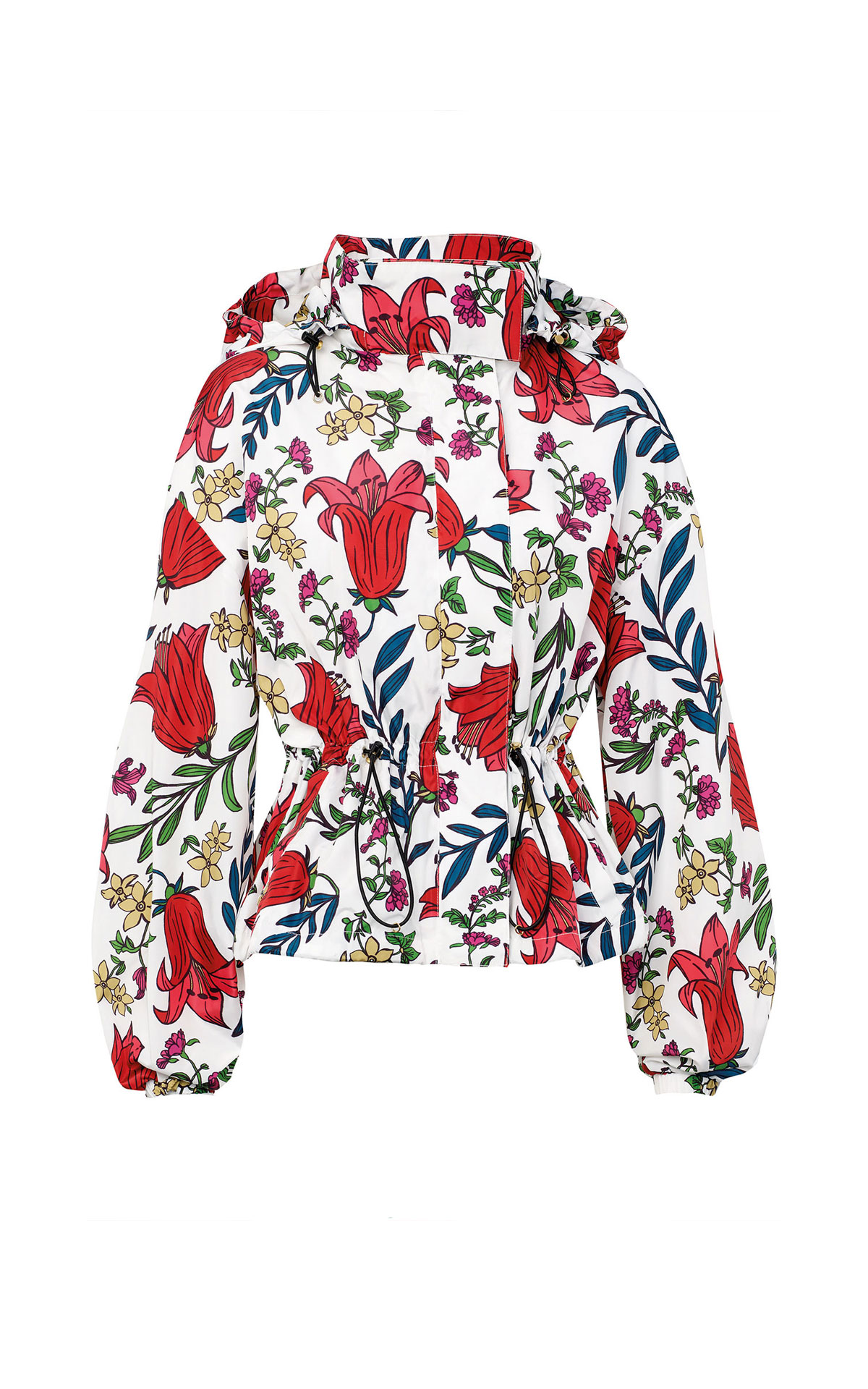 Flowered jacket Escada