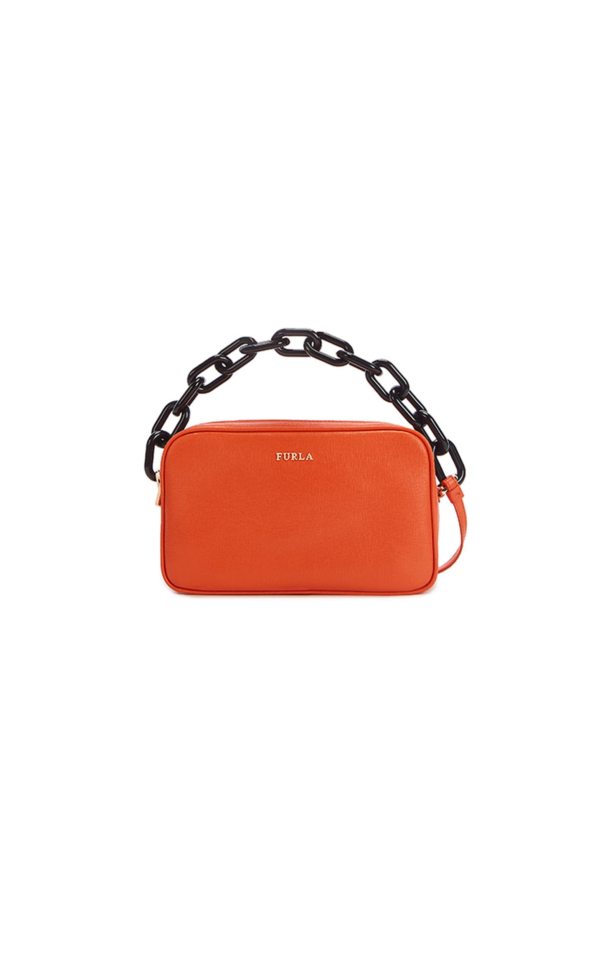 Furla Lilli Crossbody Pouch w/chain at The Bicester Village Shopping Collection