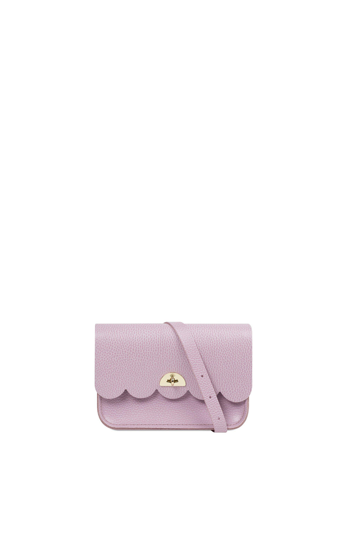 The Cambridge Satchel Company Small cloud bag light lilac grain from Bicester Village