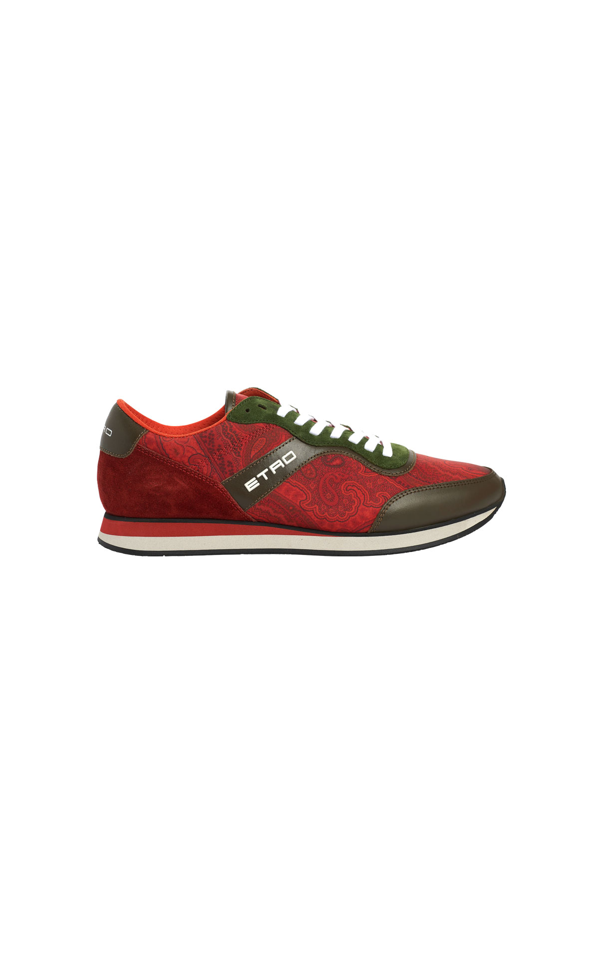 Red sneakers etro