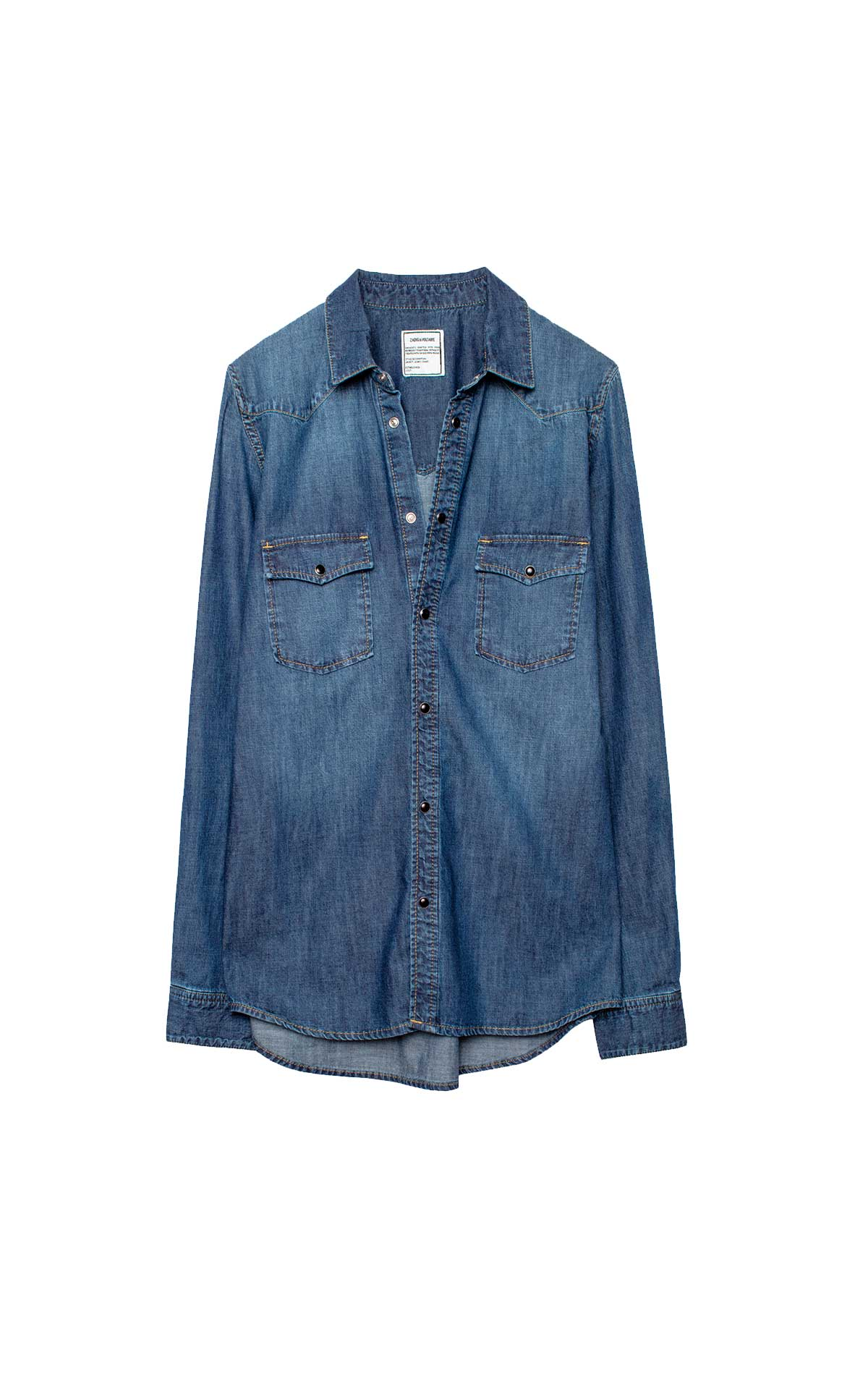 Denim shirt Zadig&Voltaire