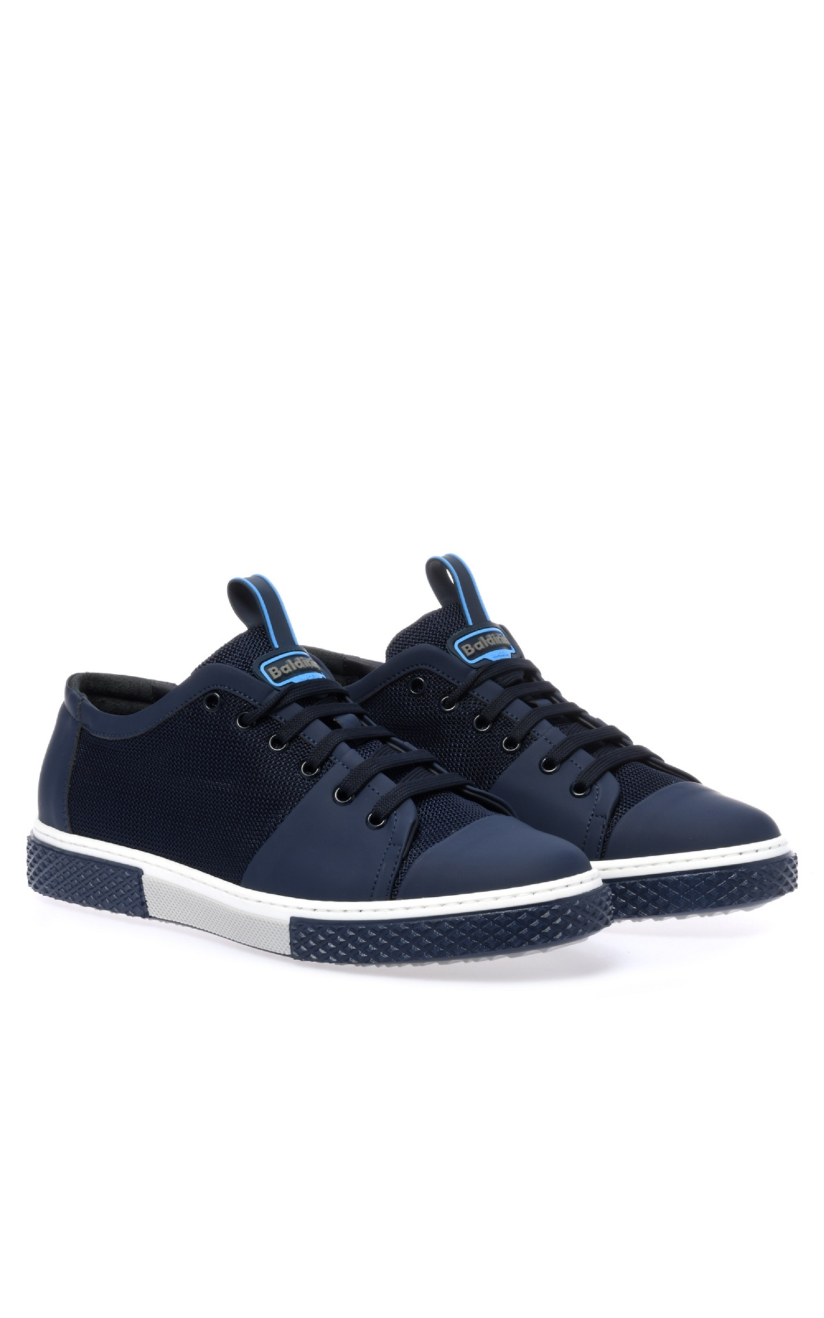 Navy blue sneakers for man Baldinini