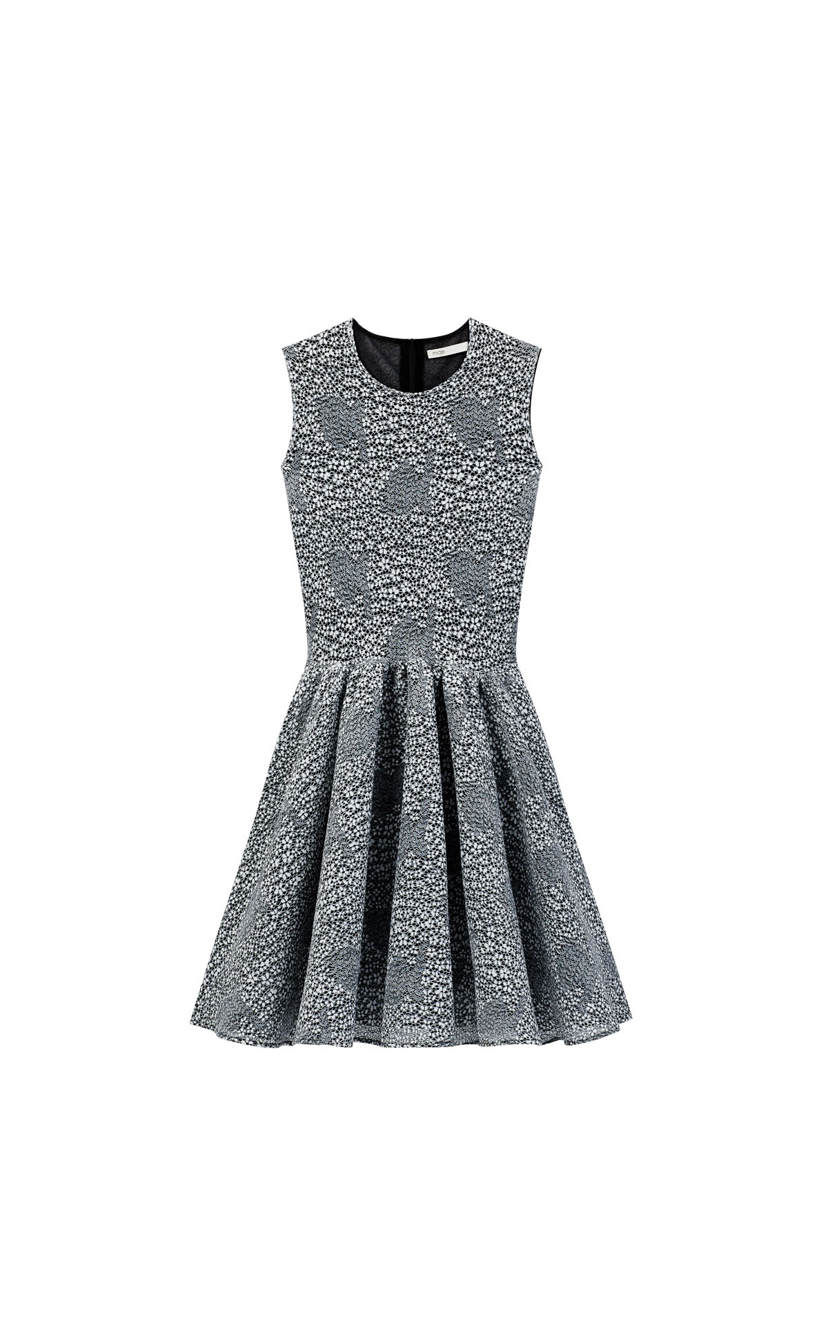 Maje skater two-tone knit dress at The Bicester Village Shopping Collection