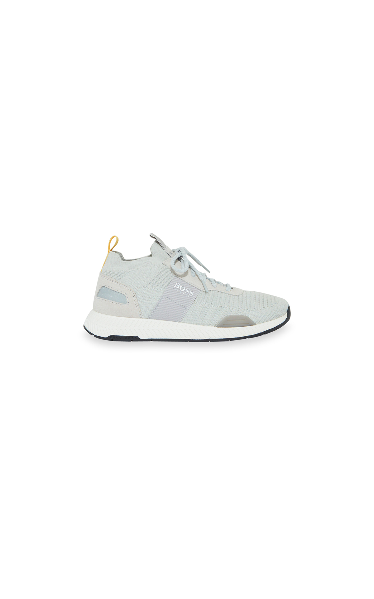 la vallée village Hugo Boss Baskets running Titanium beige clair