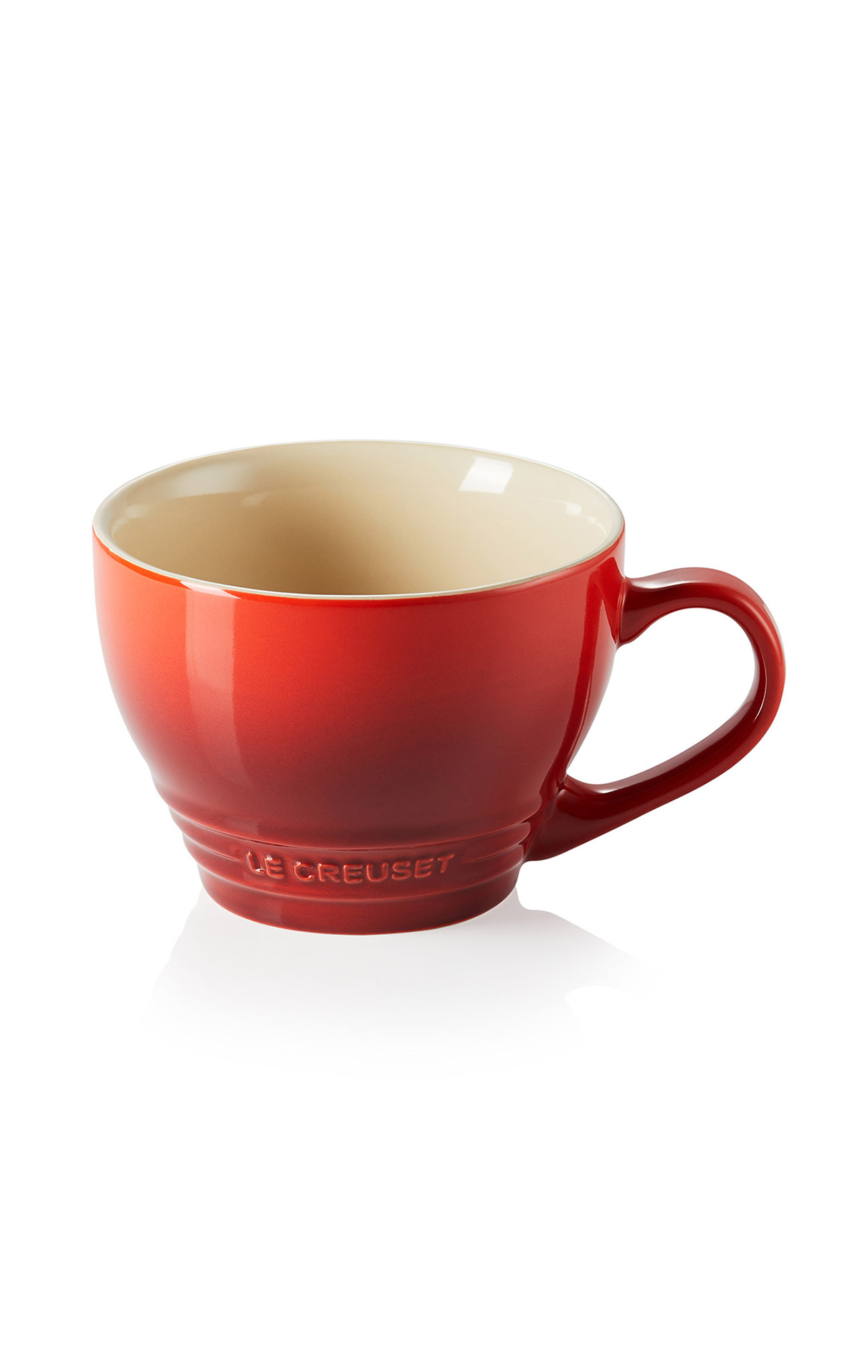 Red mug Le Creuset