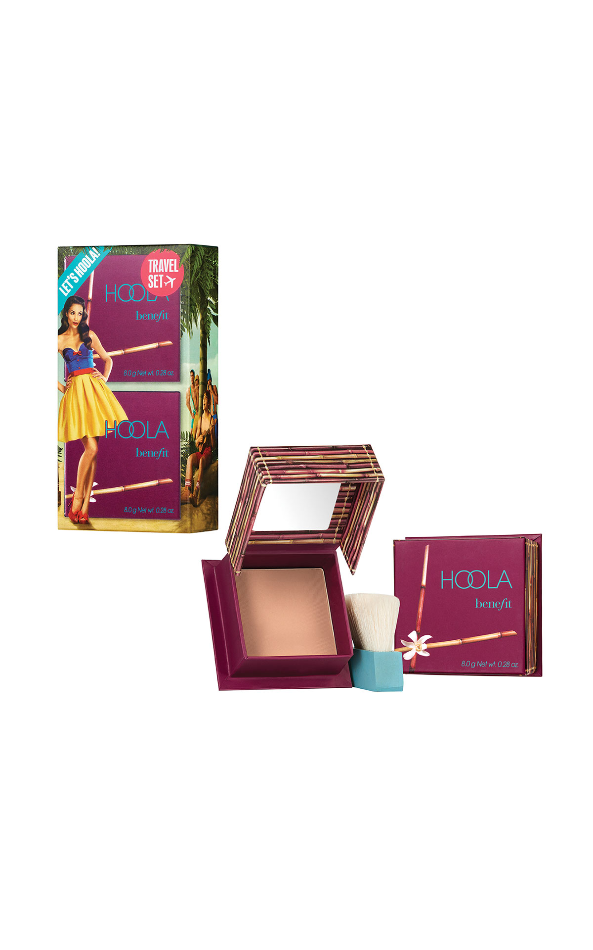 Benefits Cosmetics Let's hoola from Bicester Village