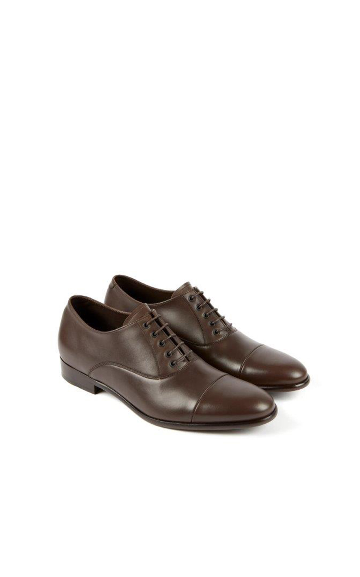 heschung Lotus Softycalf shoes chestnut color in leather la vallée village