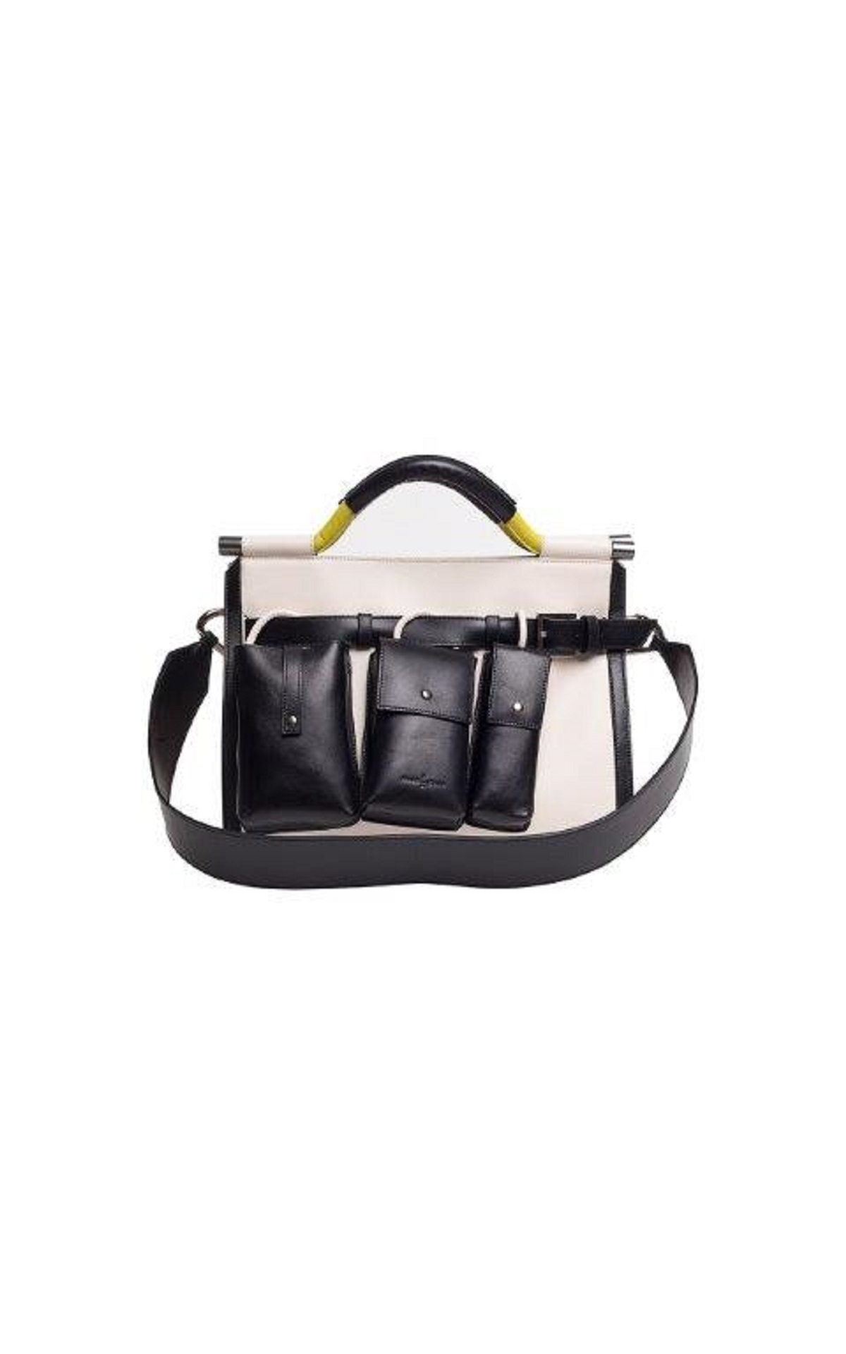 Black and white bag Roberto Verino