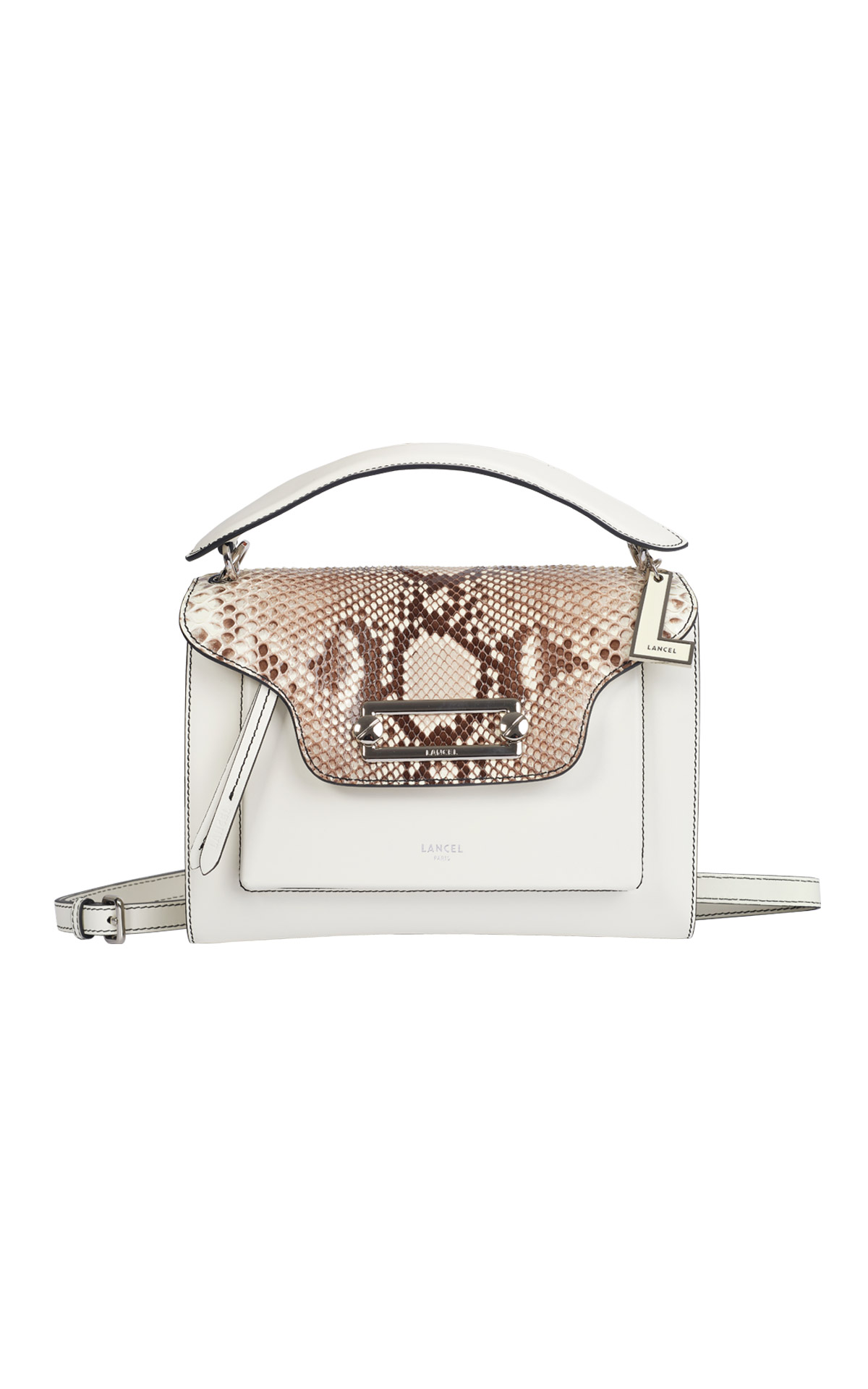 Bolso blanco Lancel