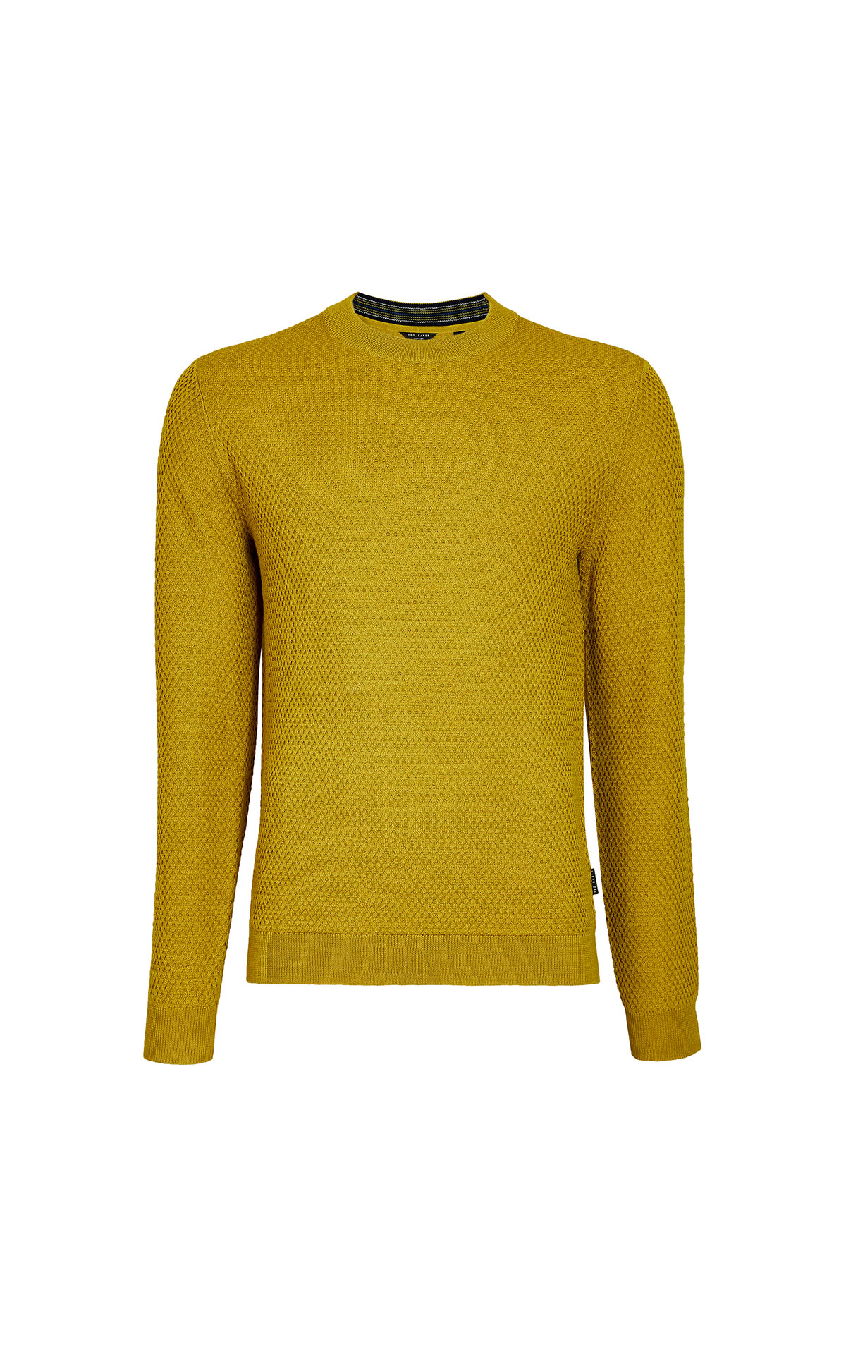 Ted Baker Seer ls textured crew neck from Bicester Village