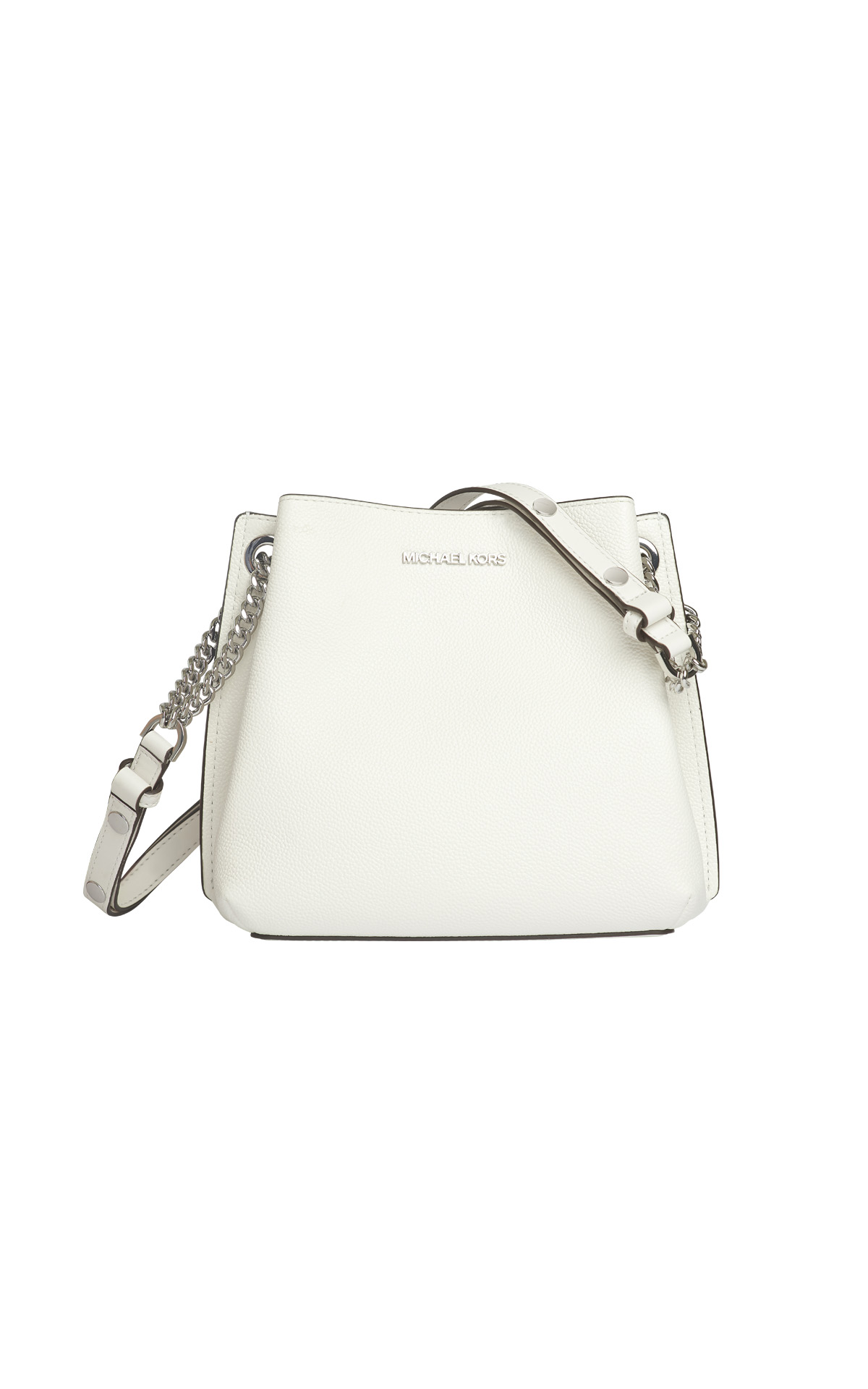 White bucket bag Michael Kors