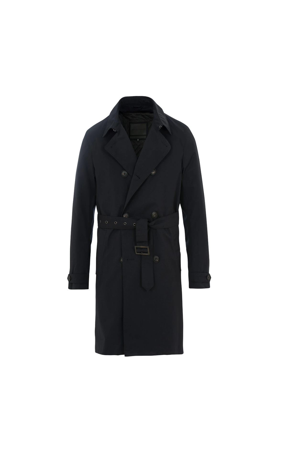 Black trench for man Armani