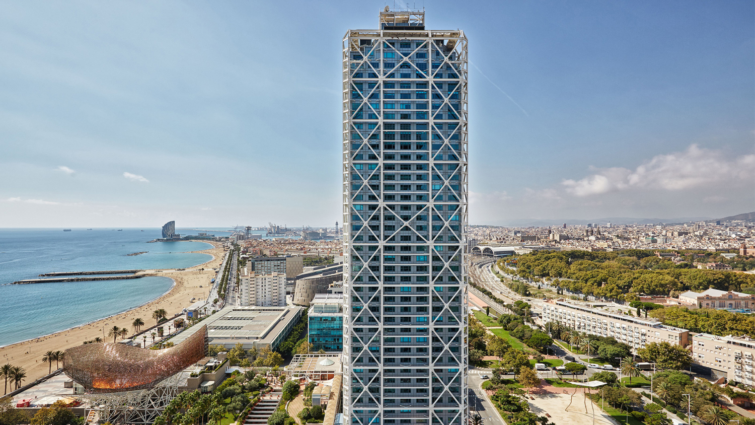 Arts hotel in Barcelona