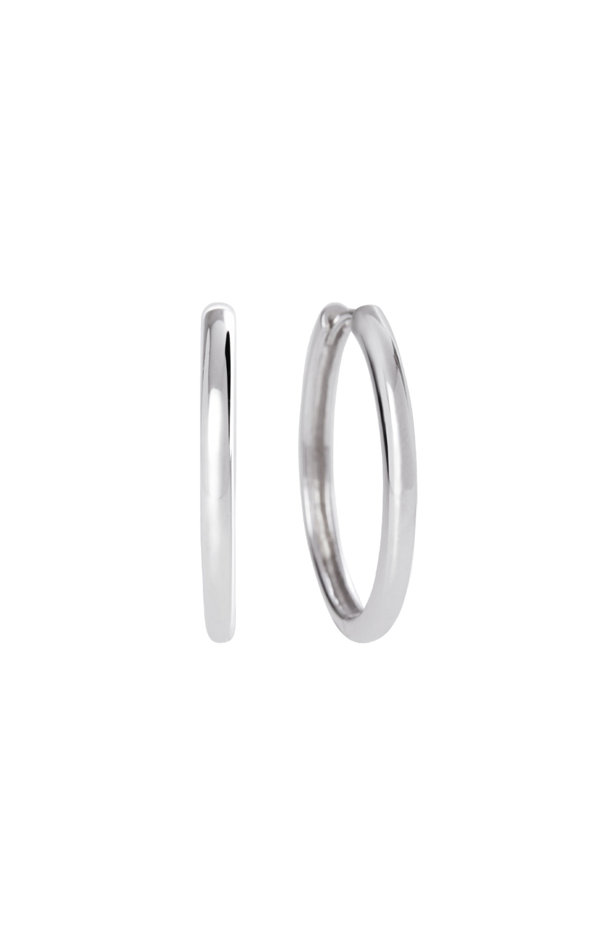Olivia Burton Silver hoop earrings from Bicester Village
