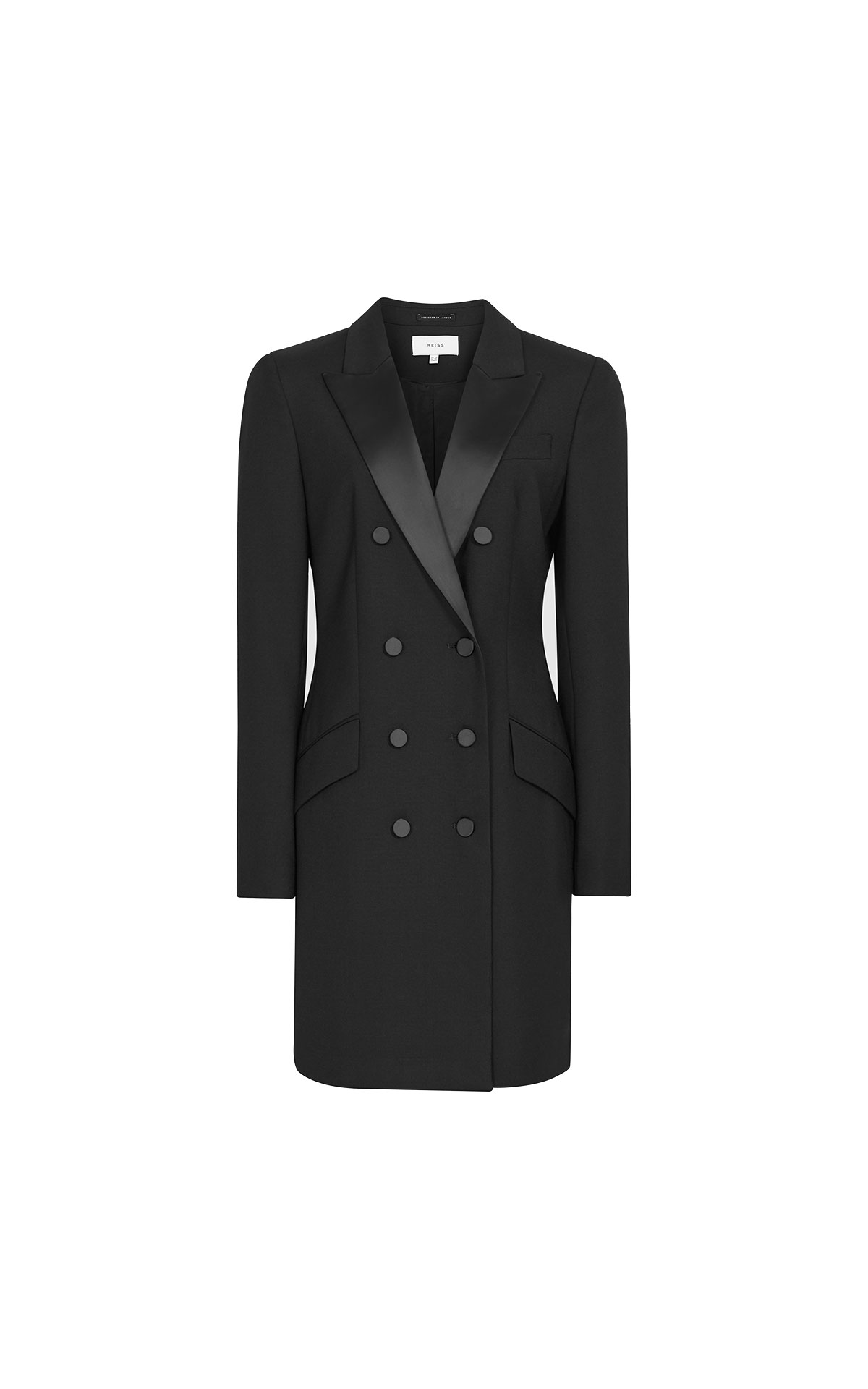 Reiss Sofia tux dress from Bicester Village
