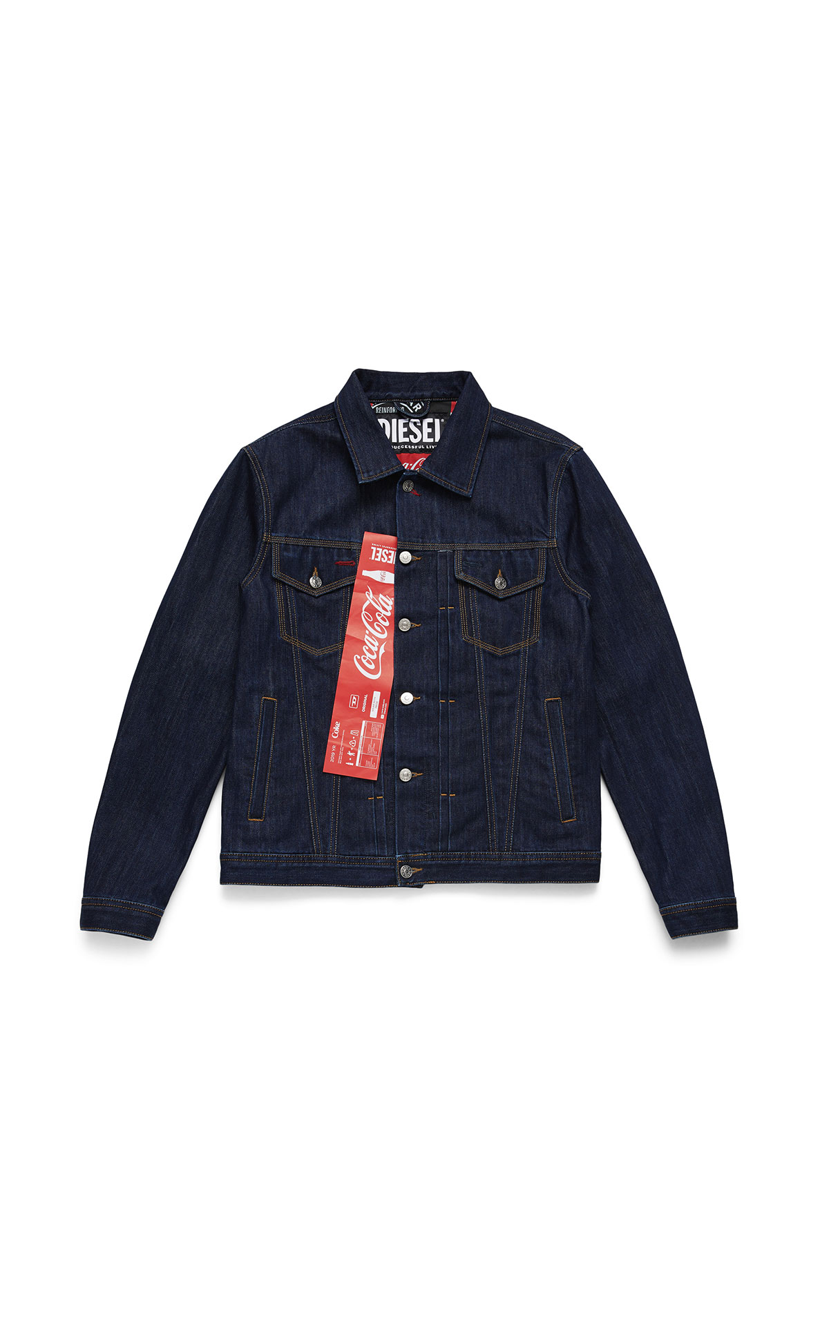 Diesel x coca cola denim jacket at The Bicester Village Shopping Collection