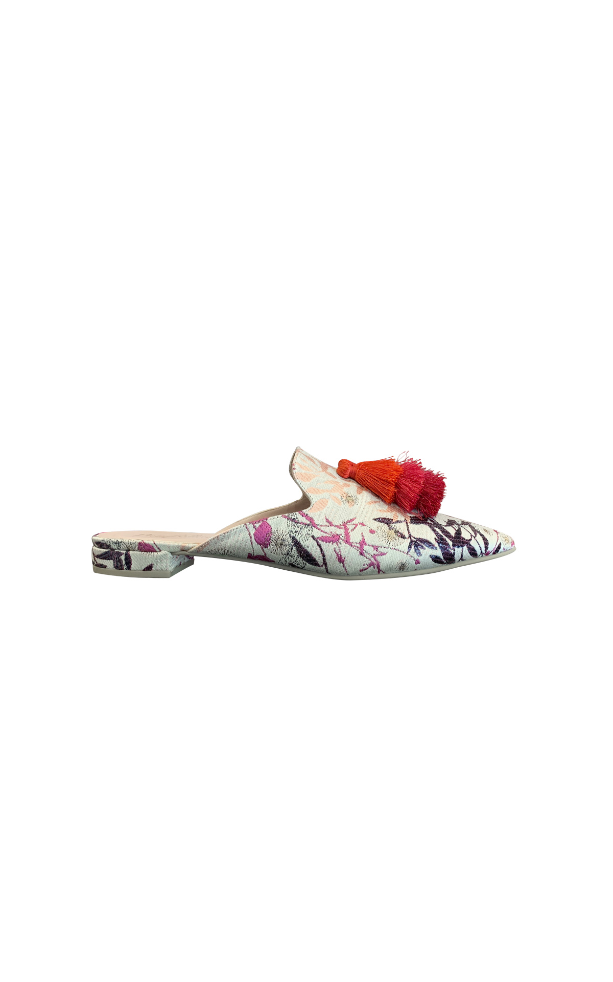 Flower print mule Pretty Ballerinas