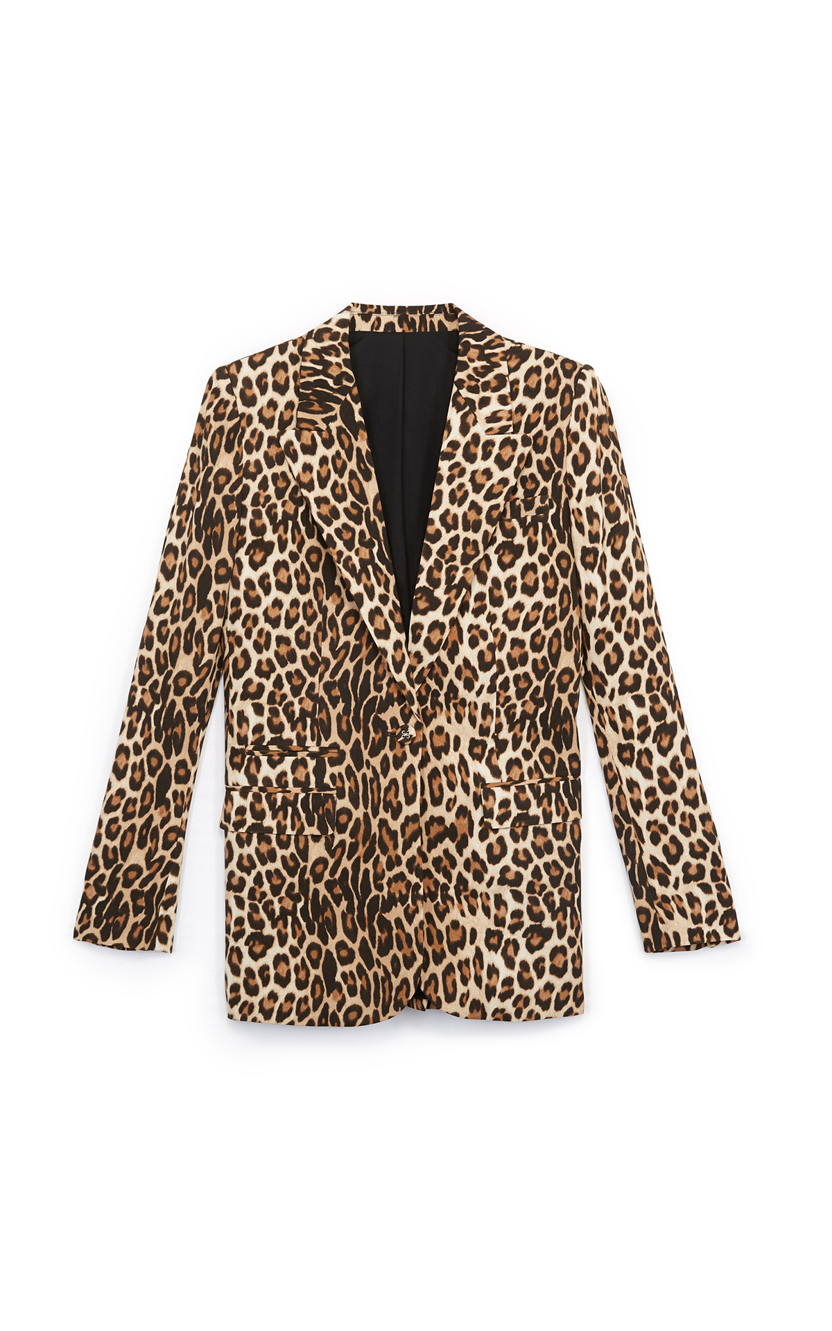 Leopard print blazer The Kooples