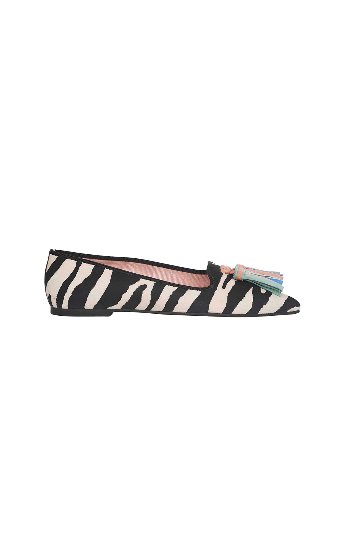 Zebra print slipper Pretty Ballerinas