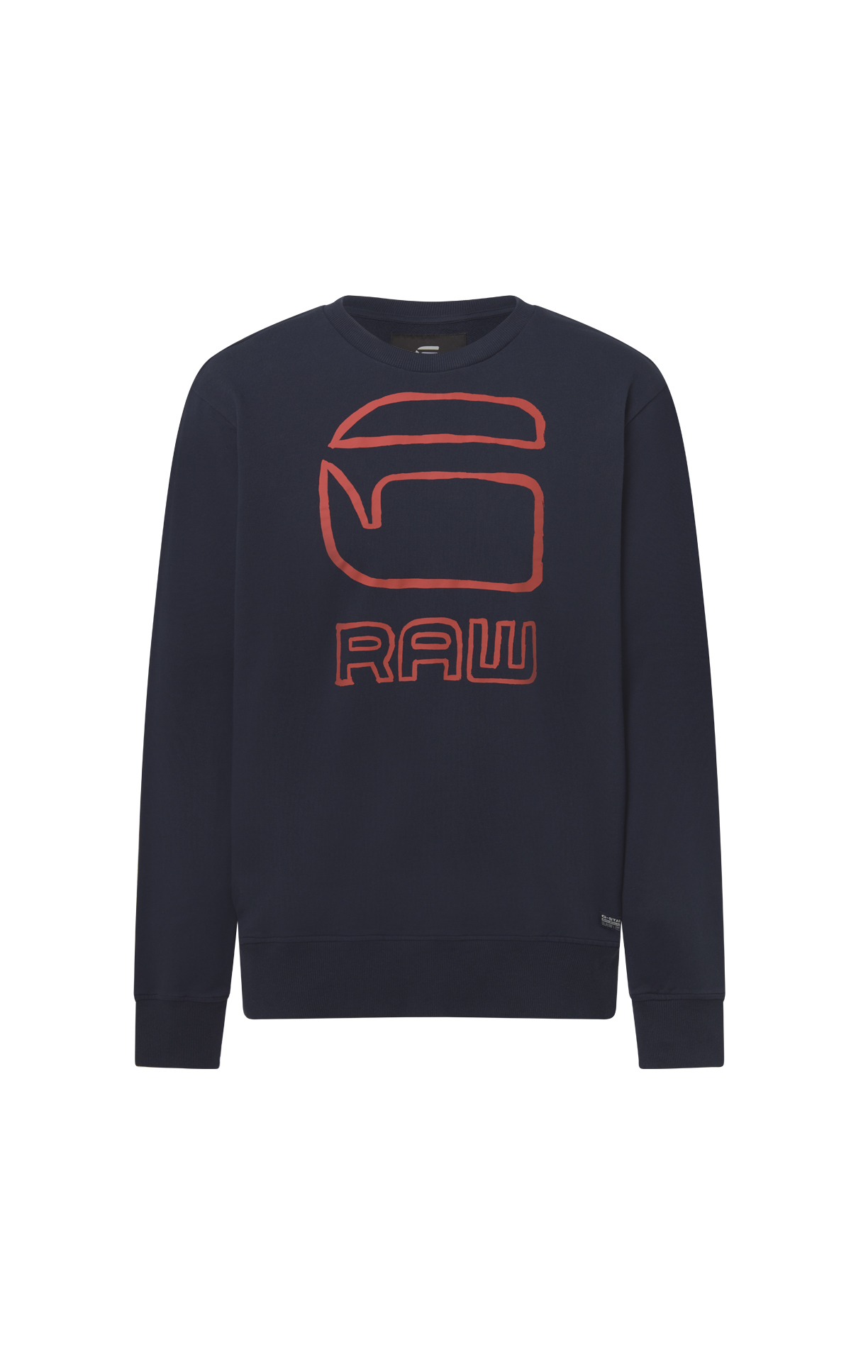 Blue G-Raw sweatshirt man G-Star RAW