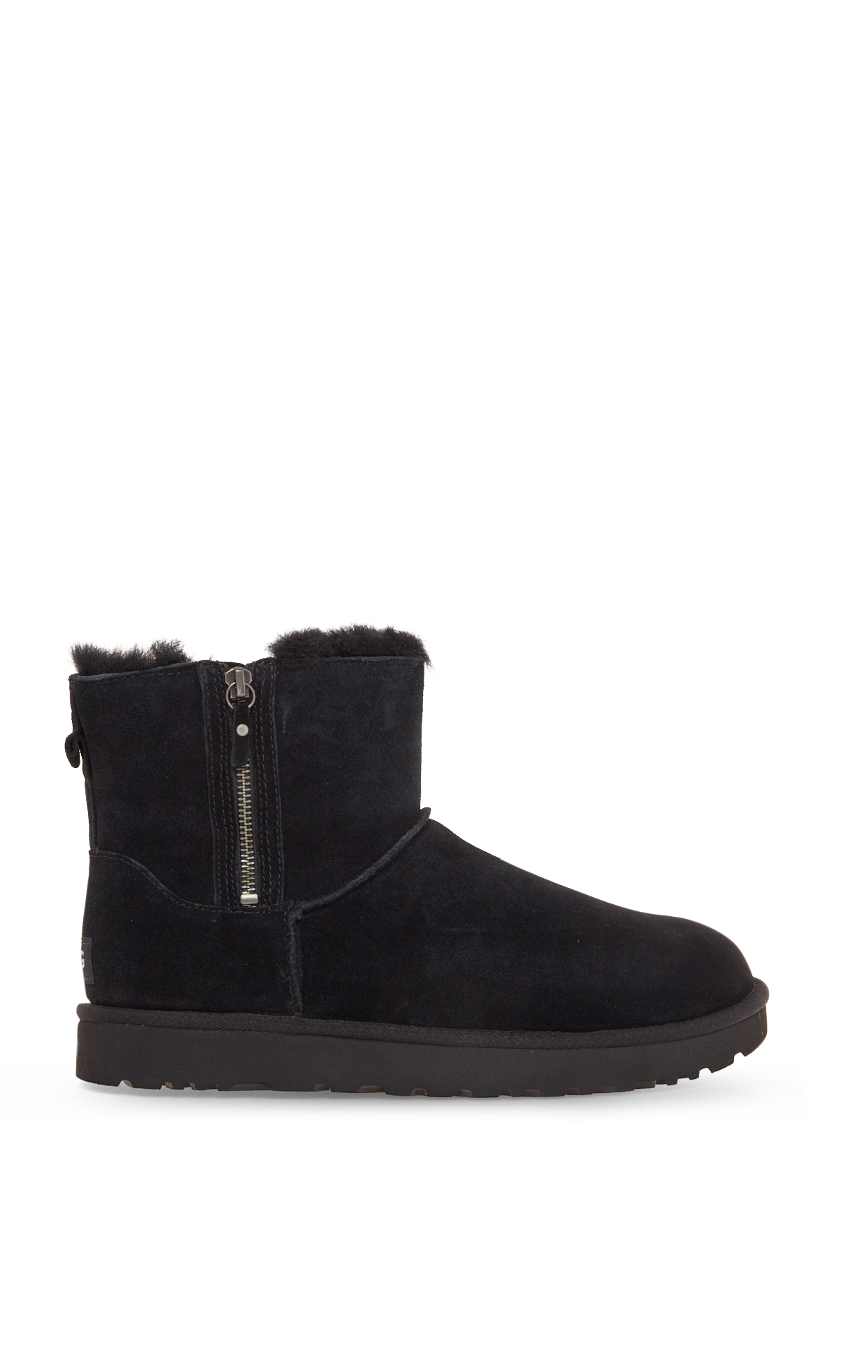 UGG Classic mini boots with double zip la vallée village