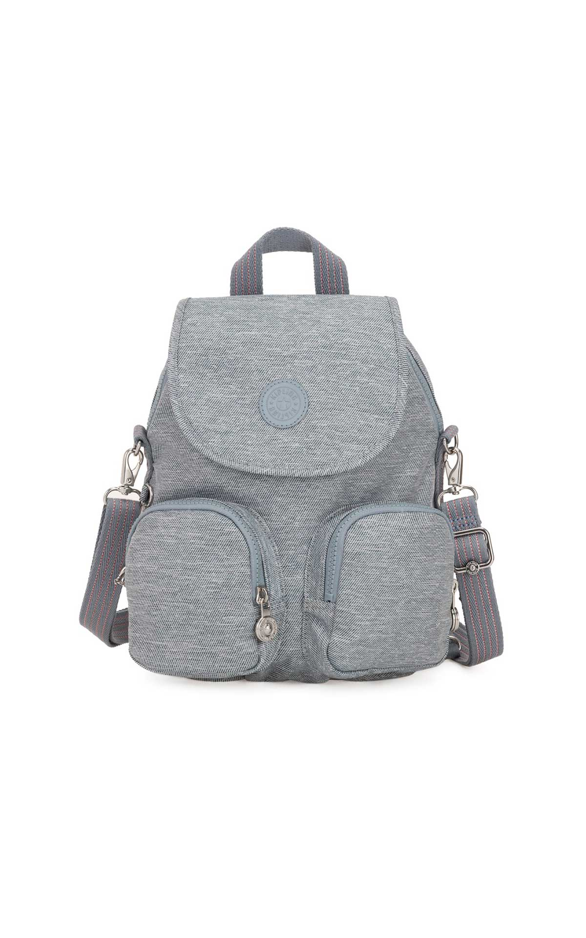 Grey backpack Kipling
