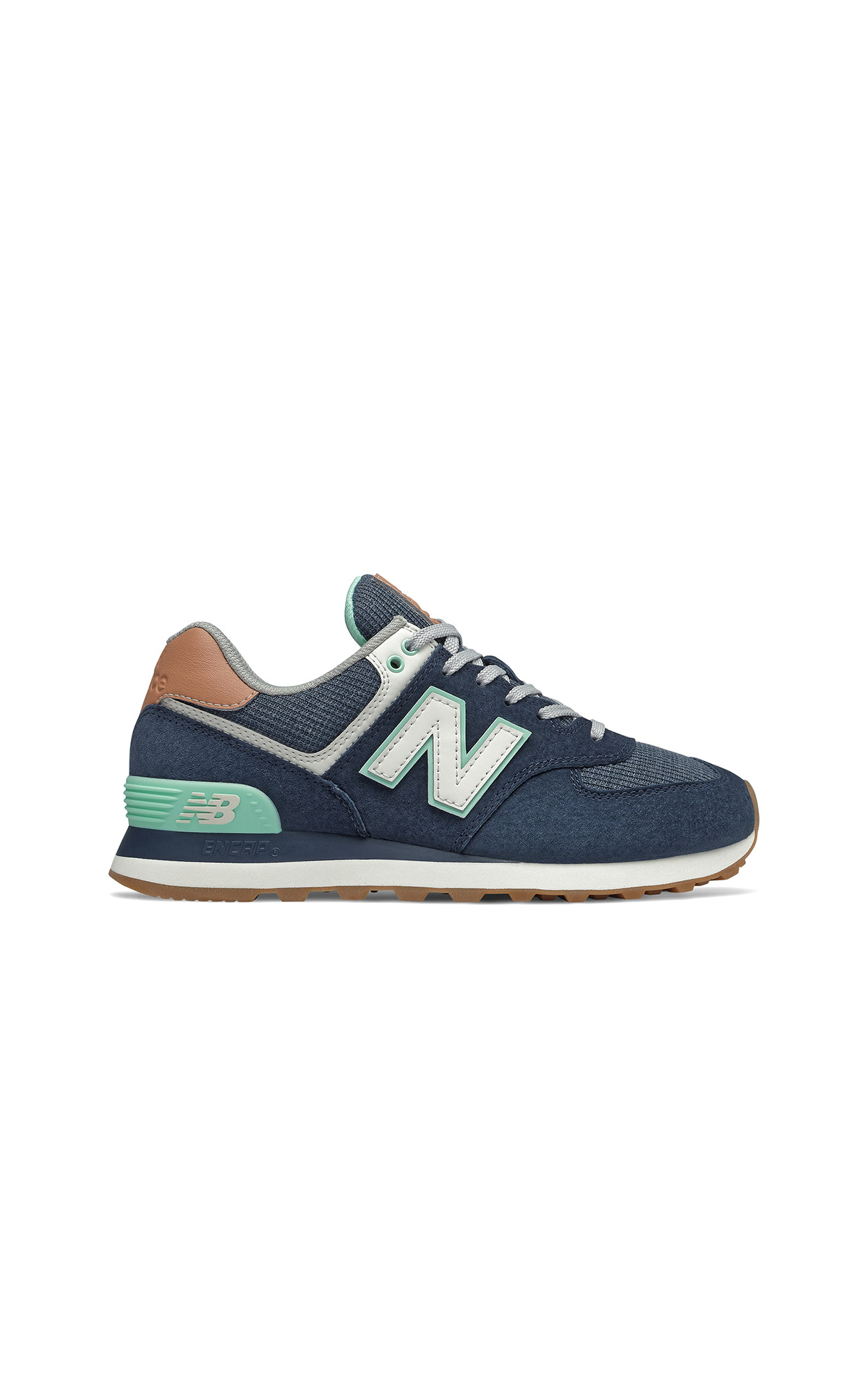 Blue and green sneakers new balance