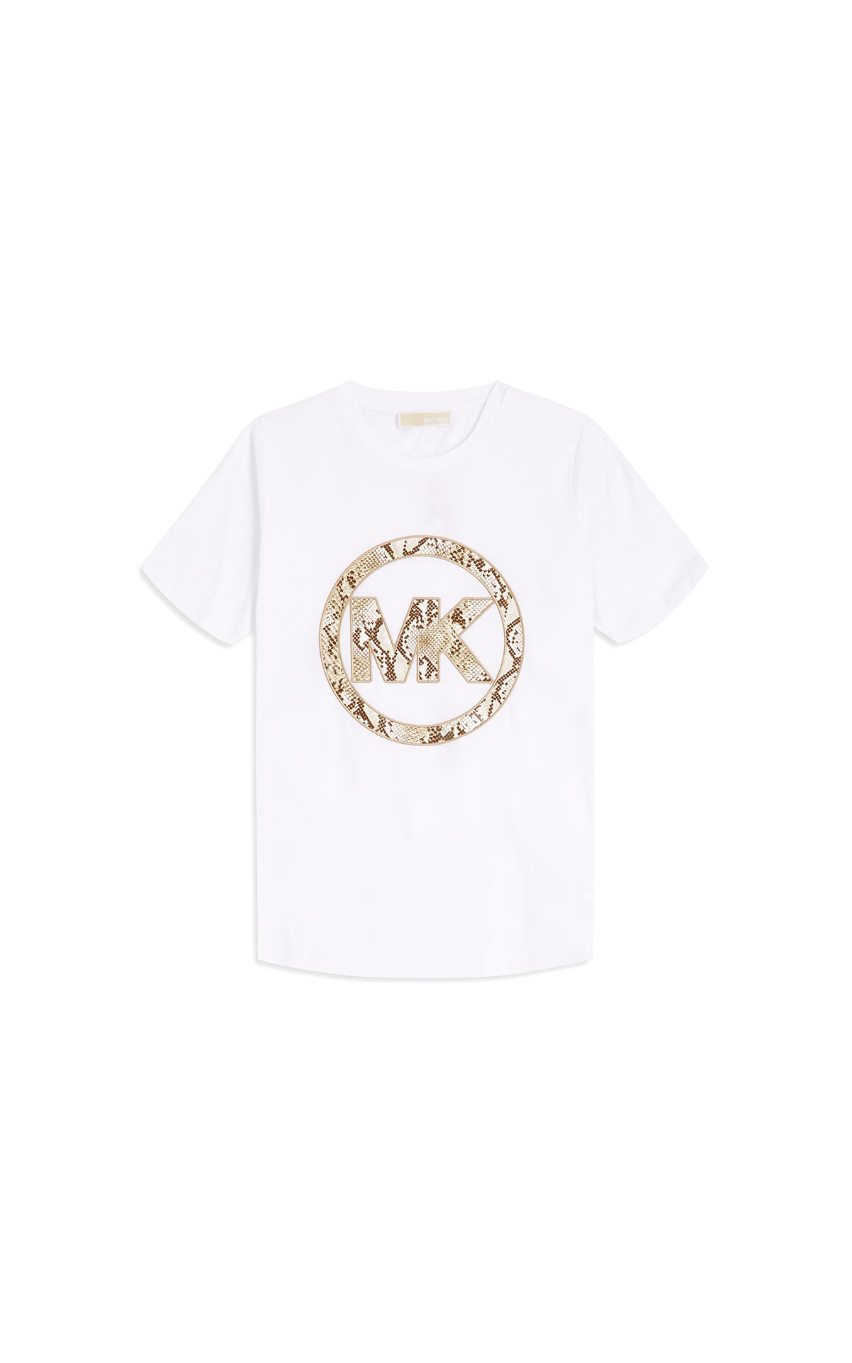 Michael Kors snake logo tee-shirt at The Bicester Village Shopping Collection