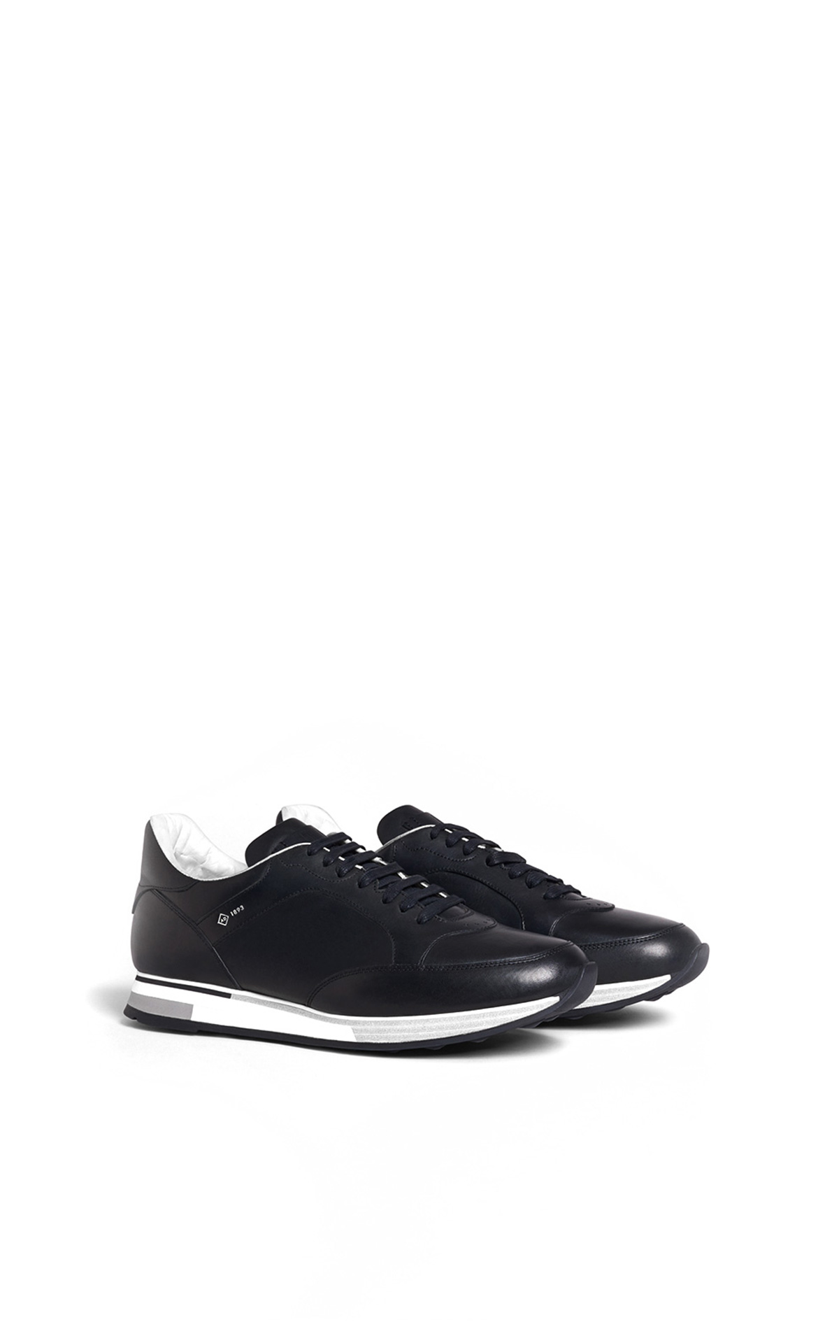 dunhill Black leather sneakers | La Vallée Village